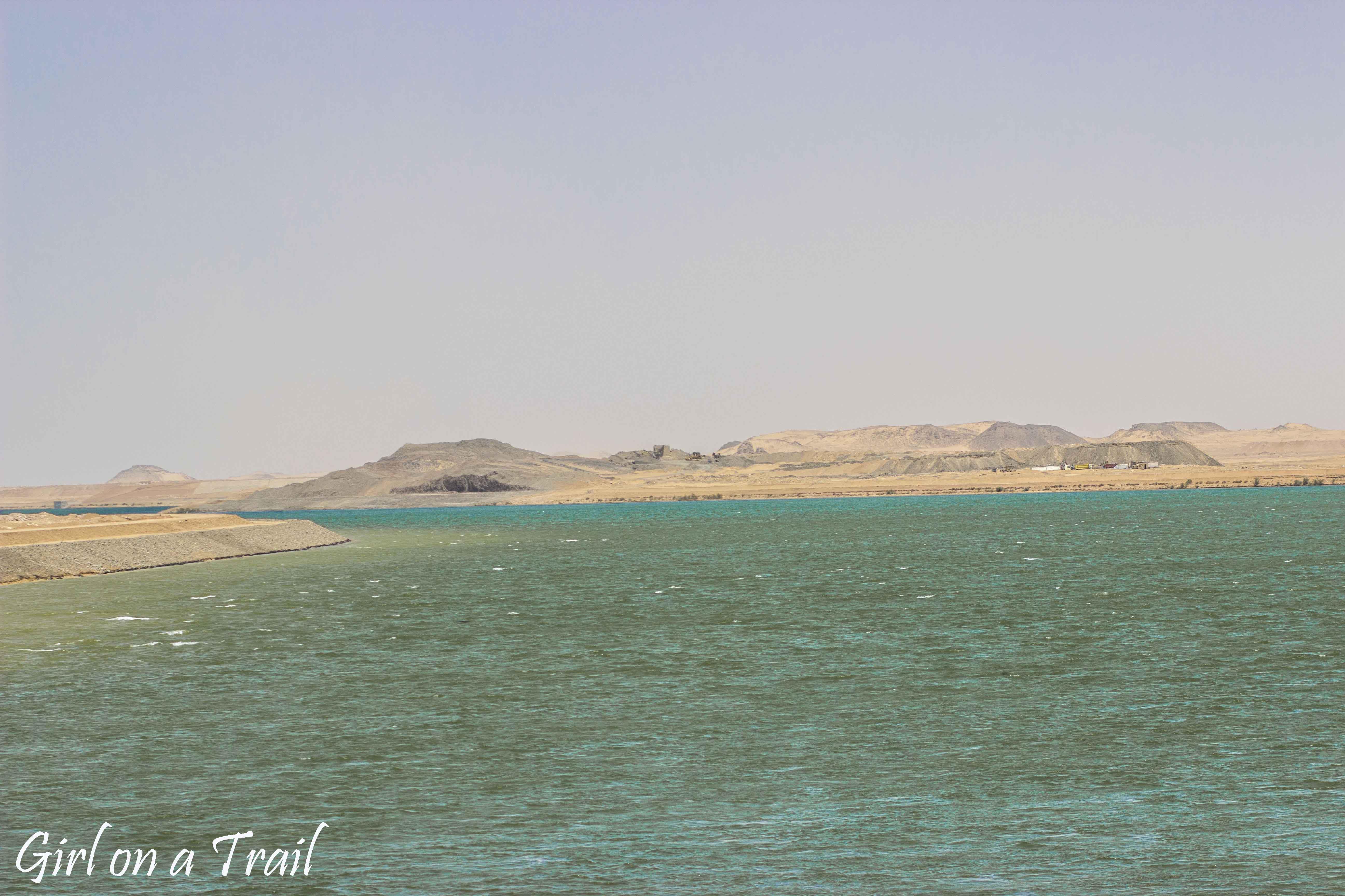 Egipt- Jezioro Nasera