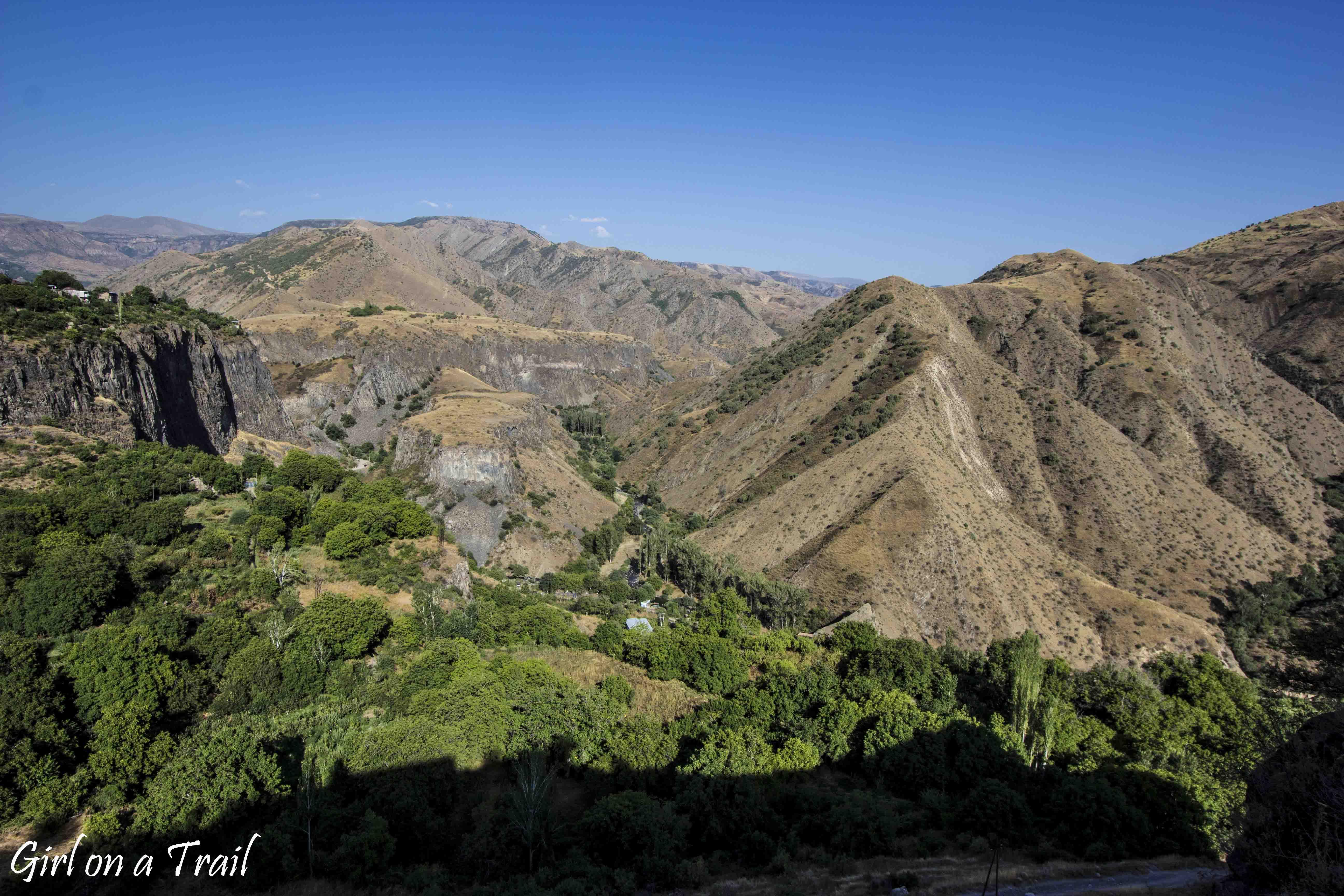 Armenia - Świątynia Garni