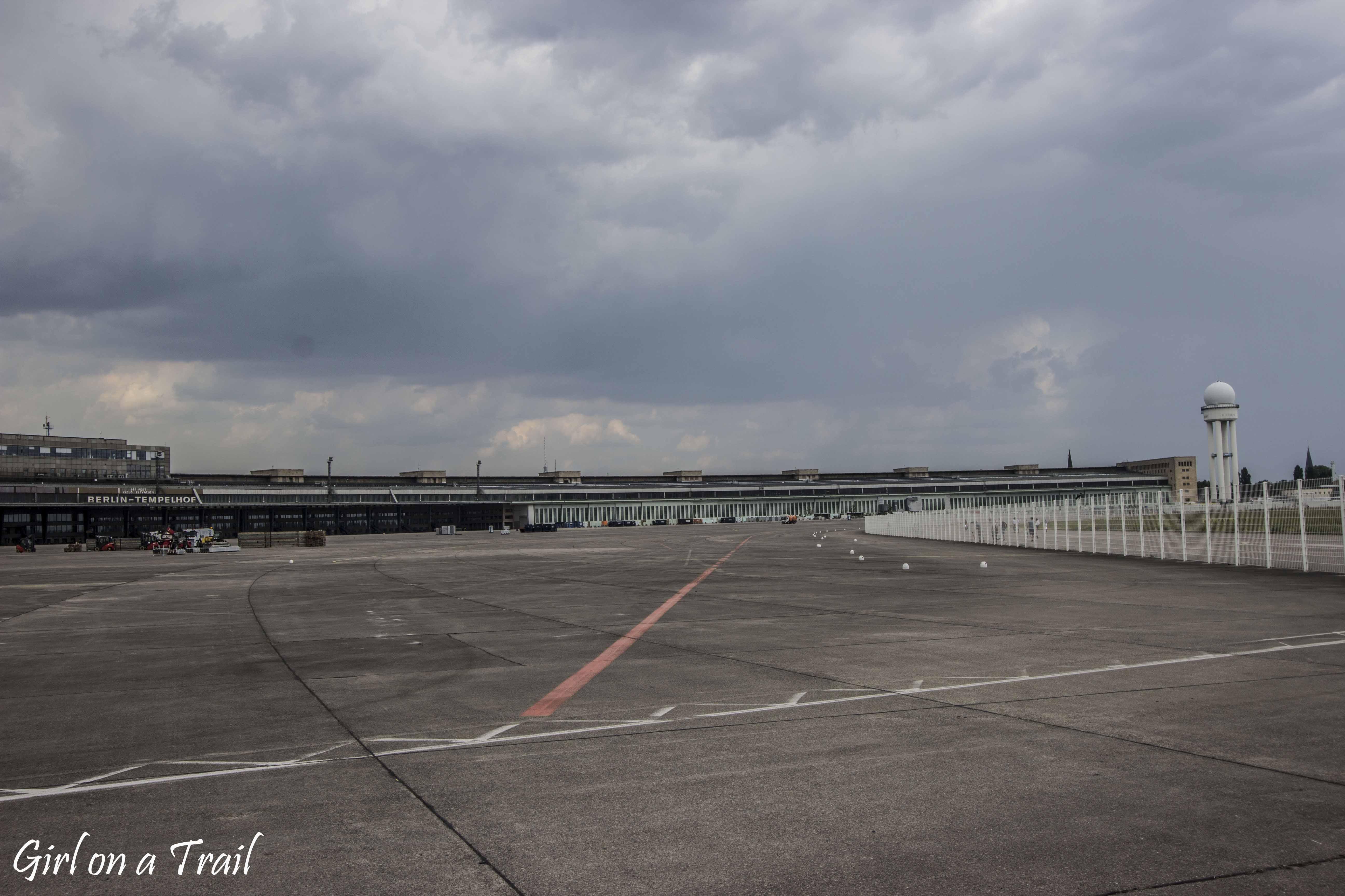 Berlin, lotnisko  Tempelhof