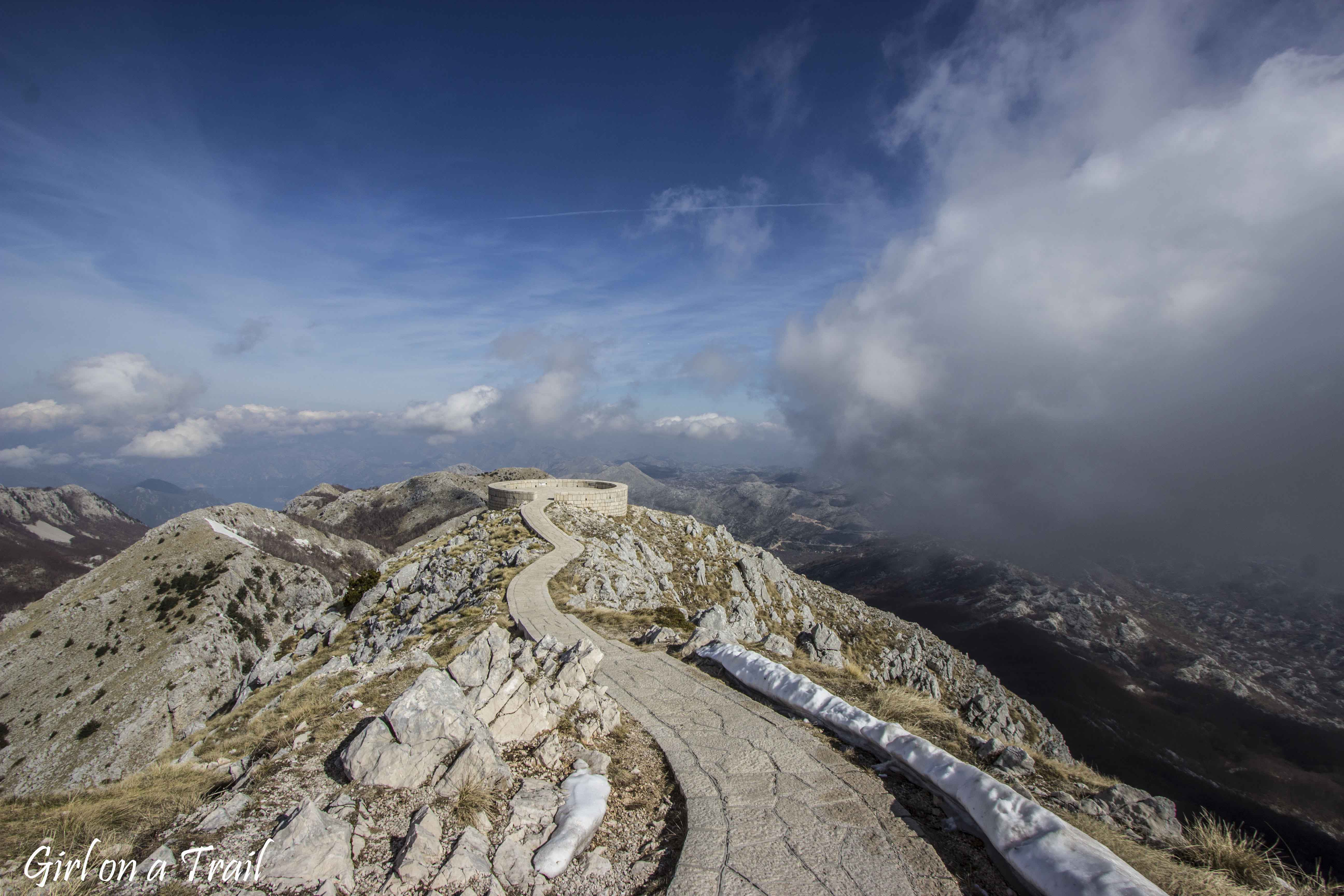 Montenegro, Park Narodowy Lovcen