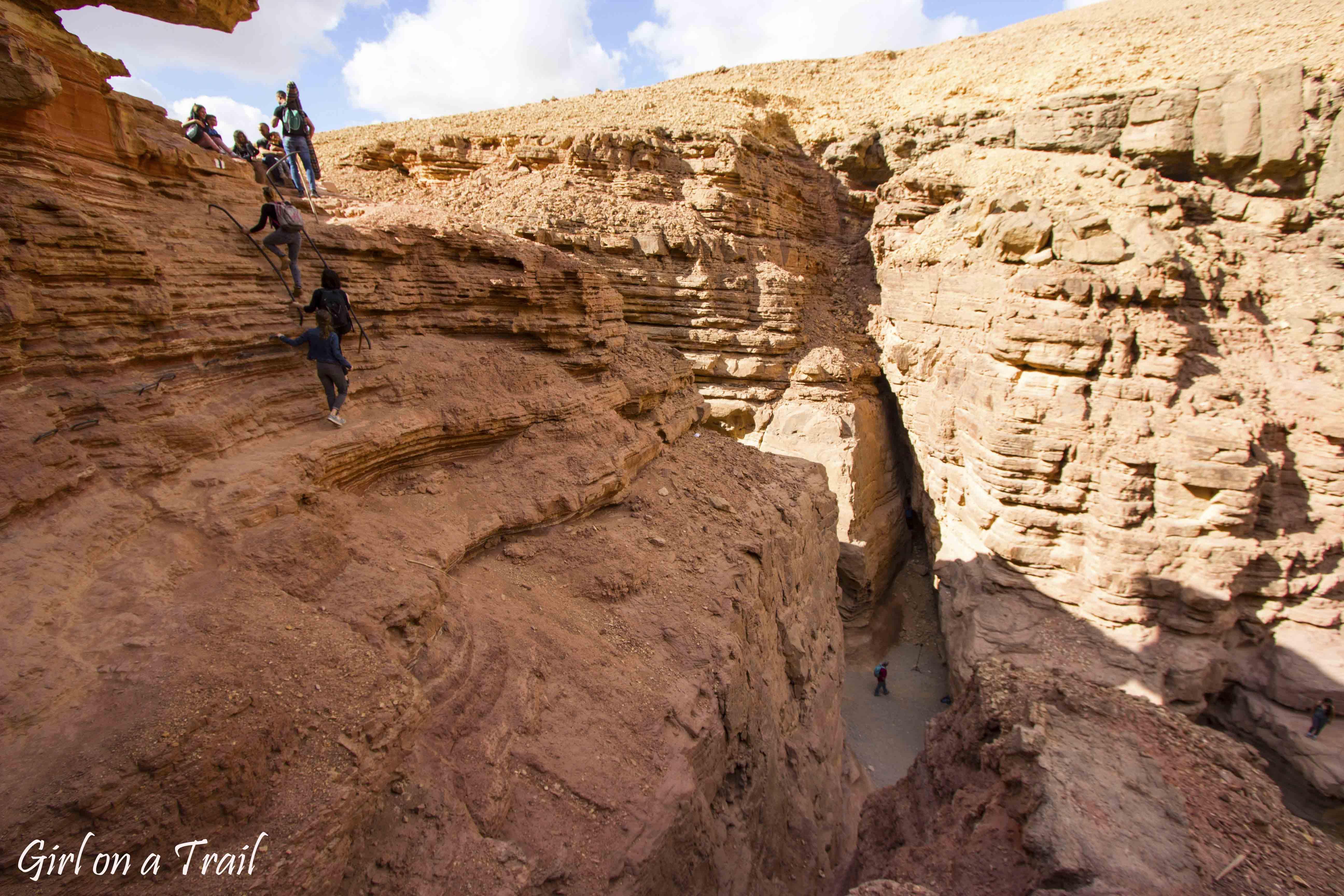 Izrael, Czerwony Kanion