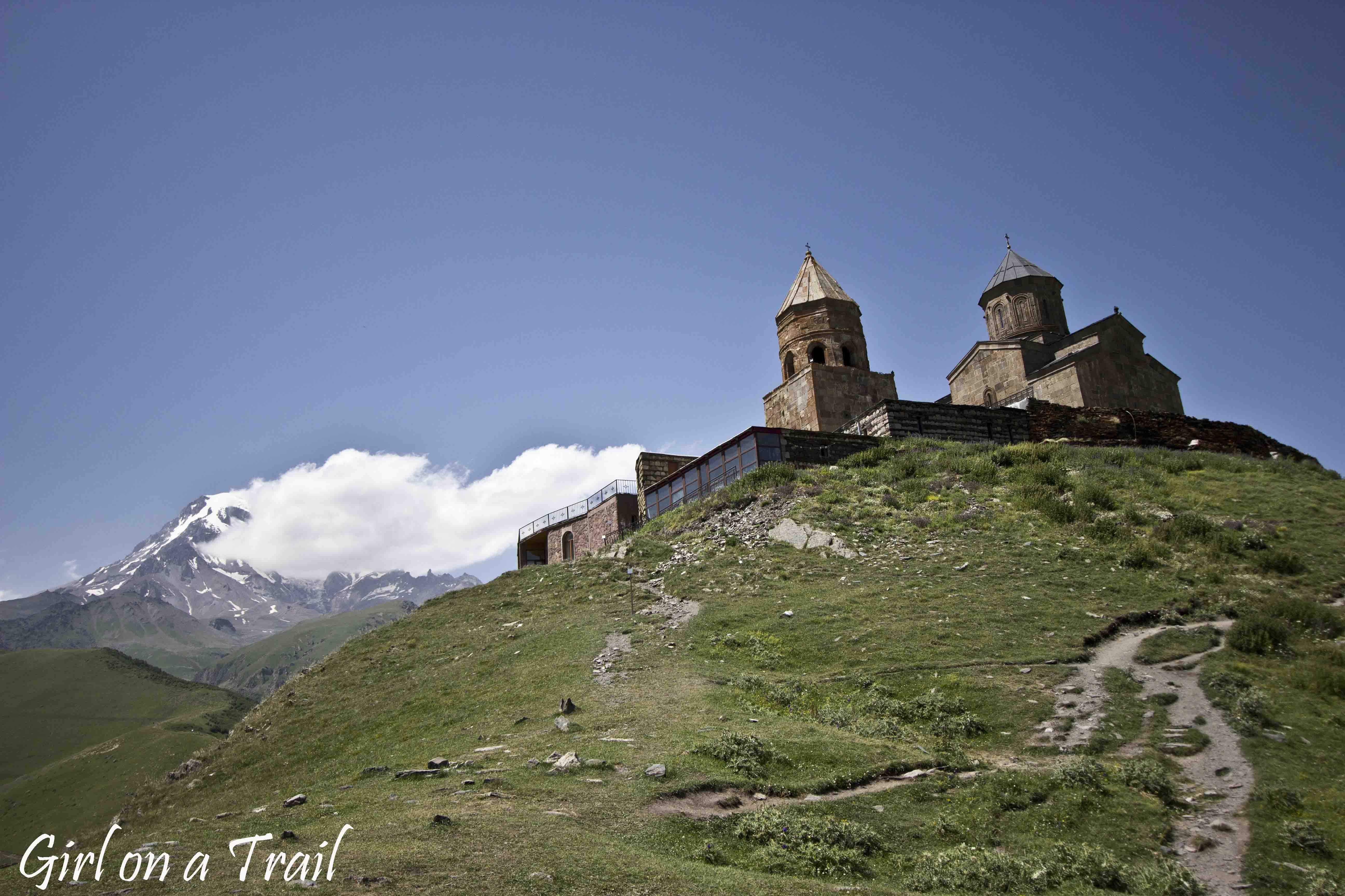 Gruzja - Kazbegi