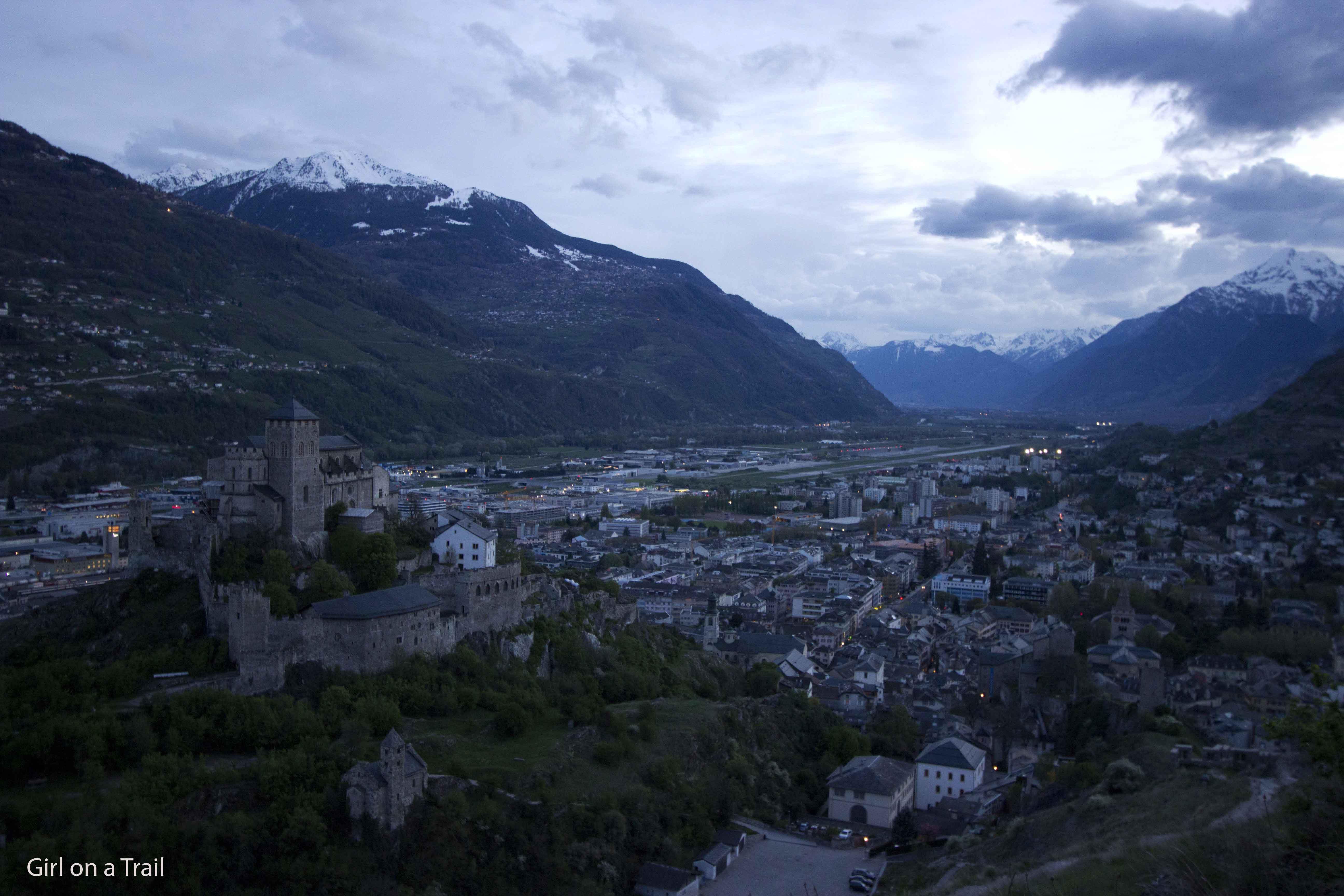Szwajcaria - Sion