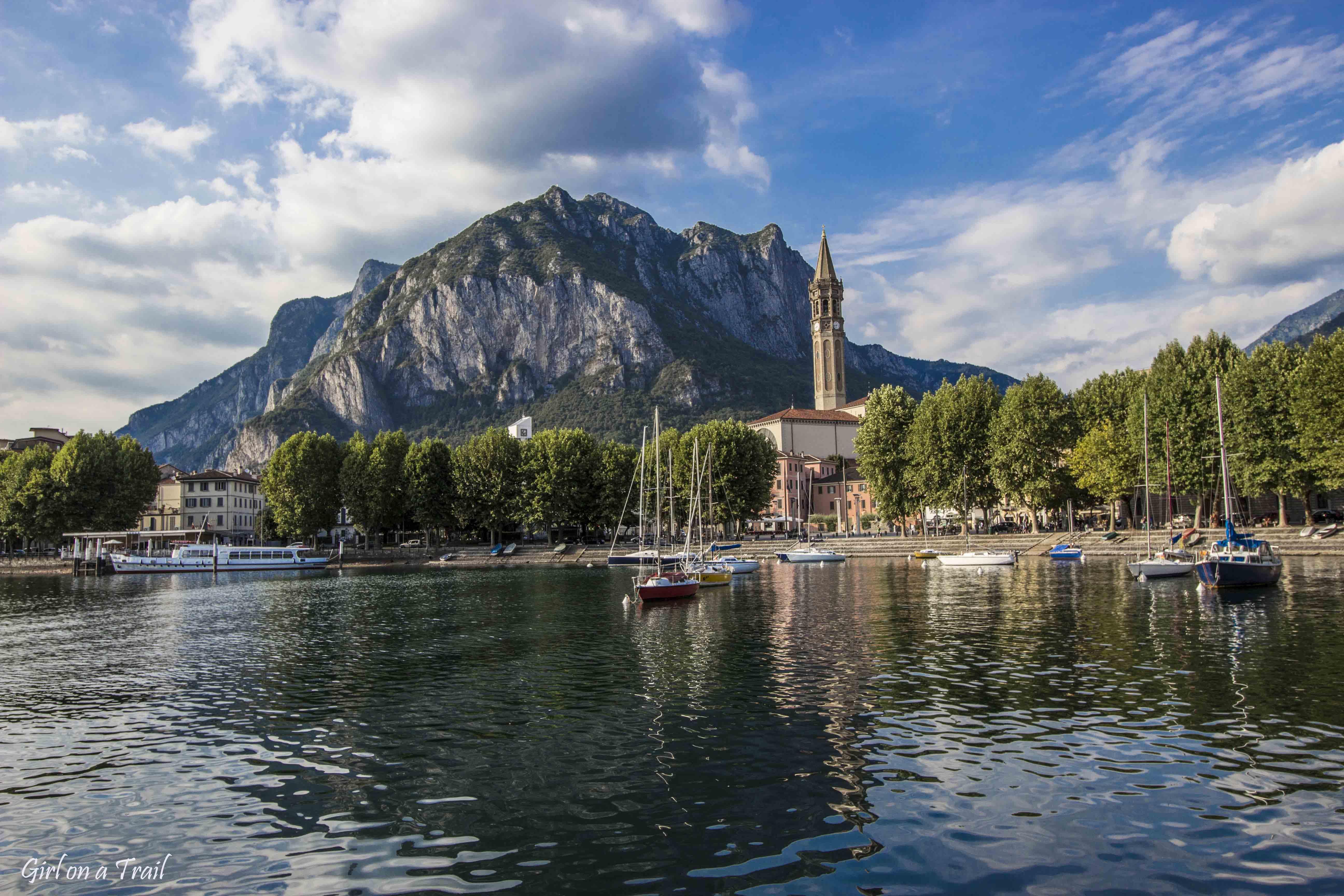 Włochy - Lecco - Jezioro Como