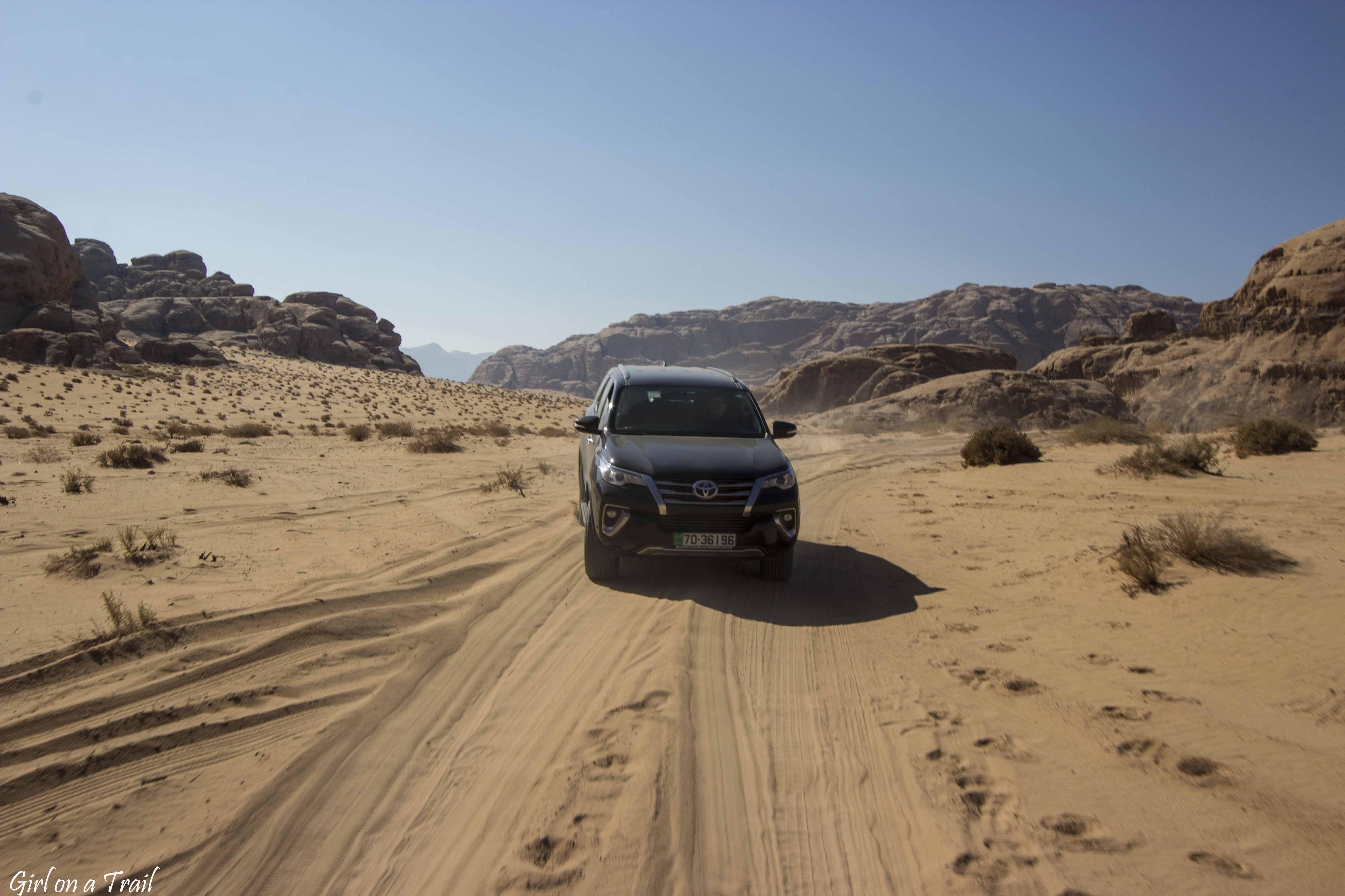 Jordania - Wadi Rum