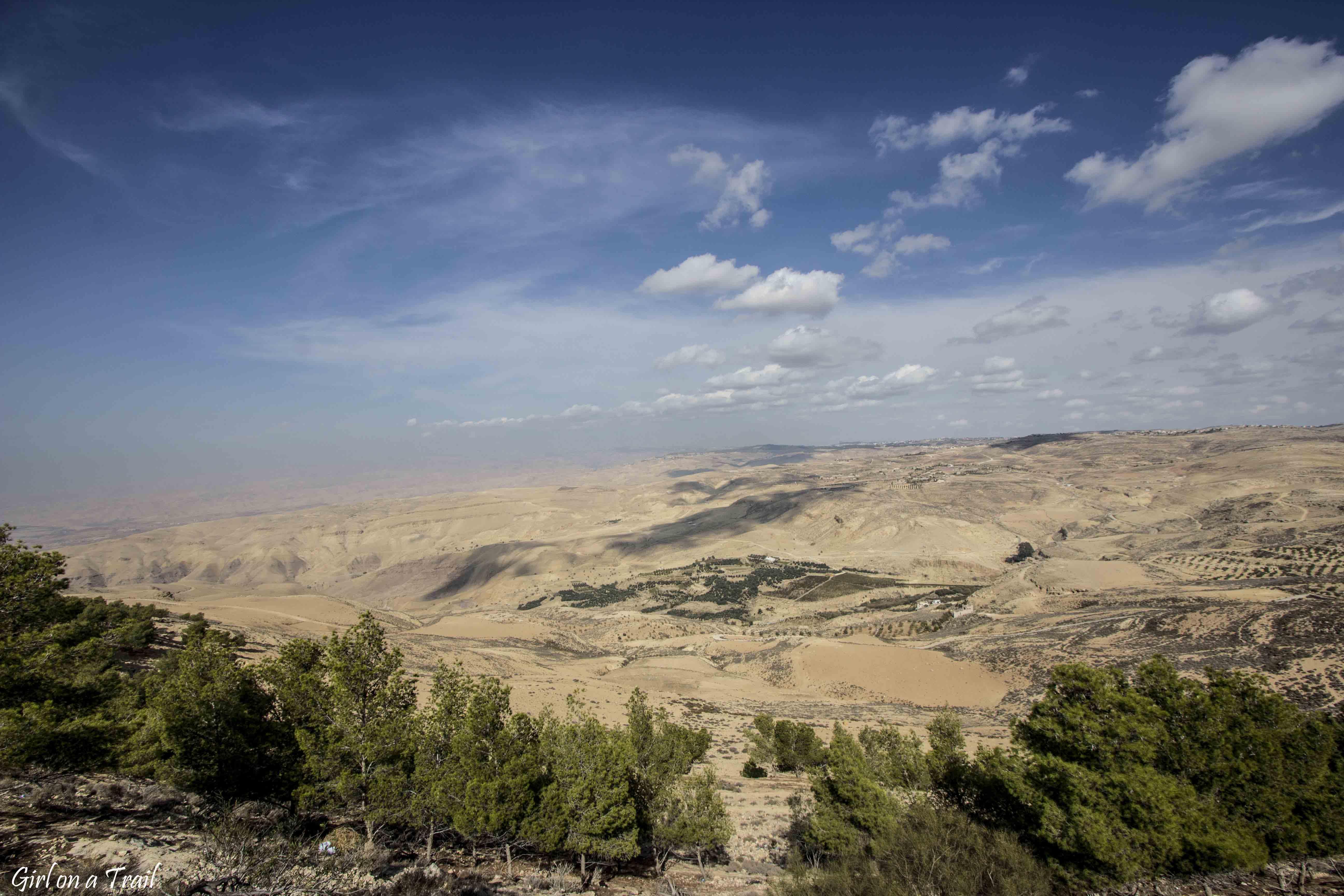 Jordania - Góra Nebo