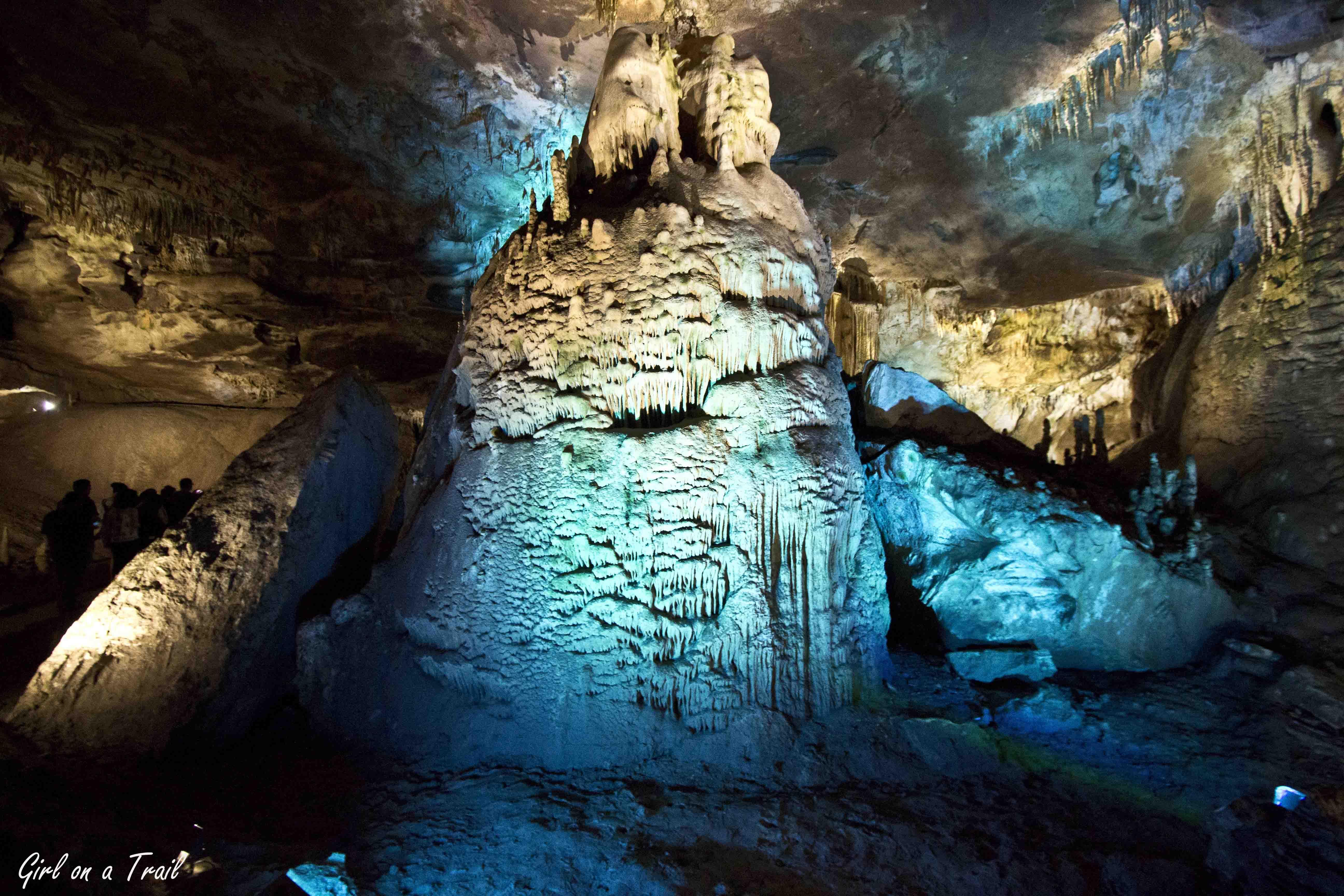 Gruzja - Jaskinia Prometeusza