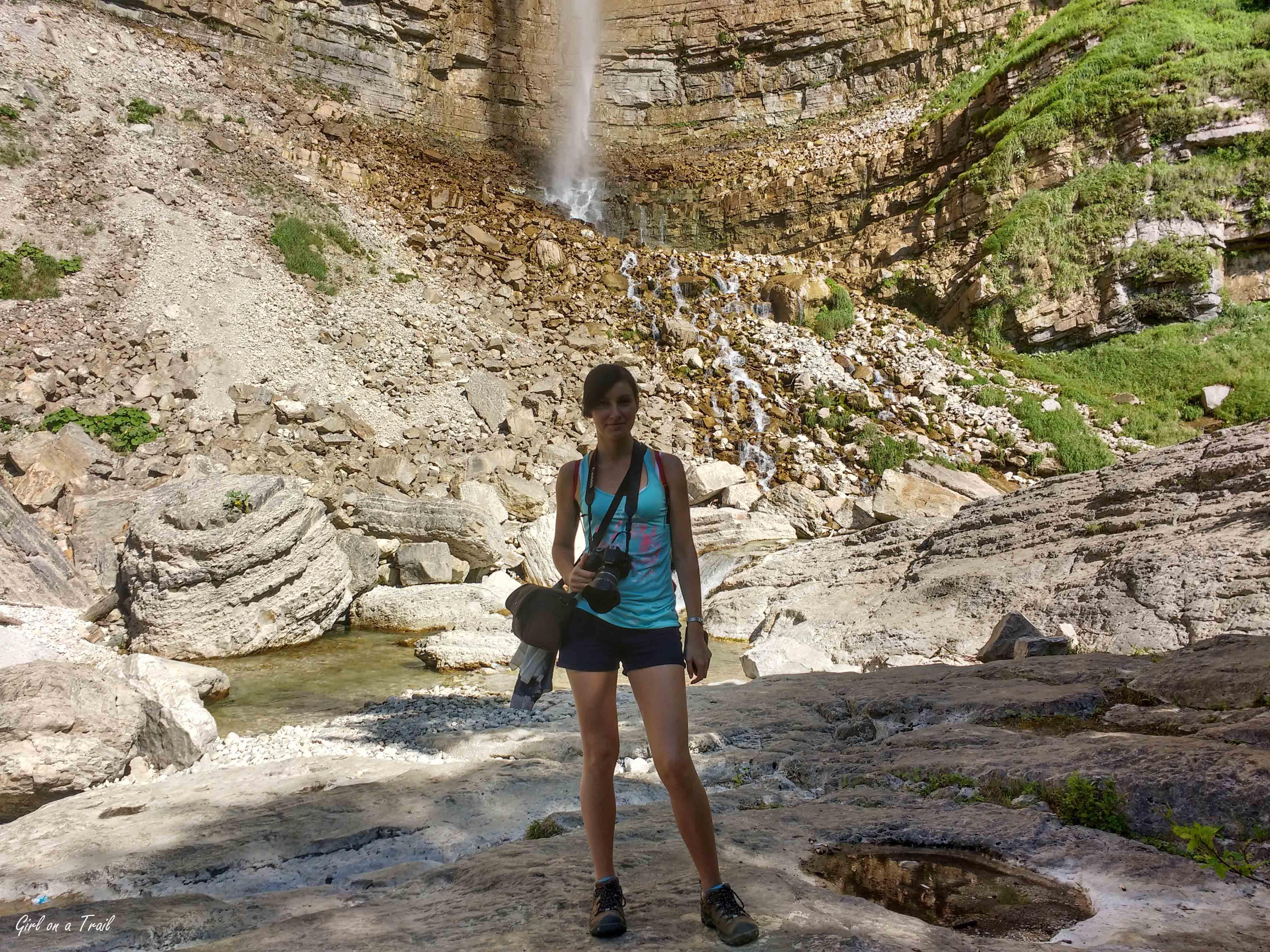Gruzja - wodospad Kinchkha