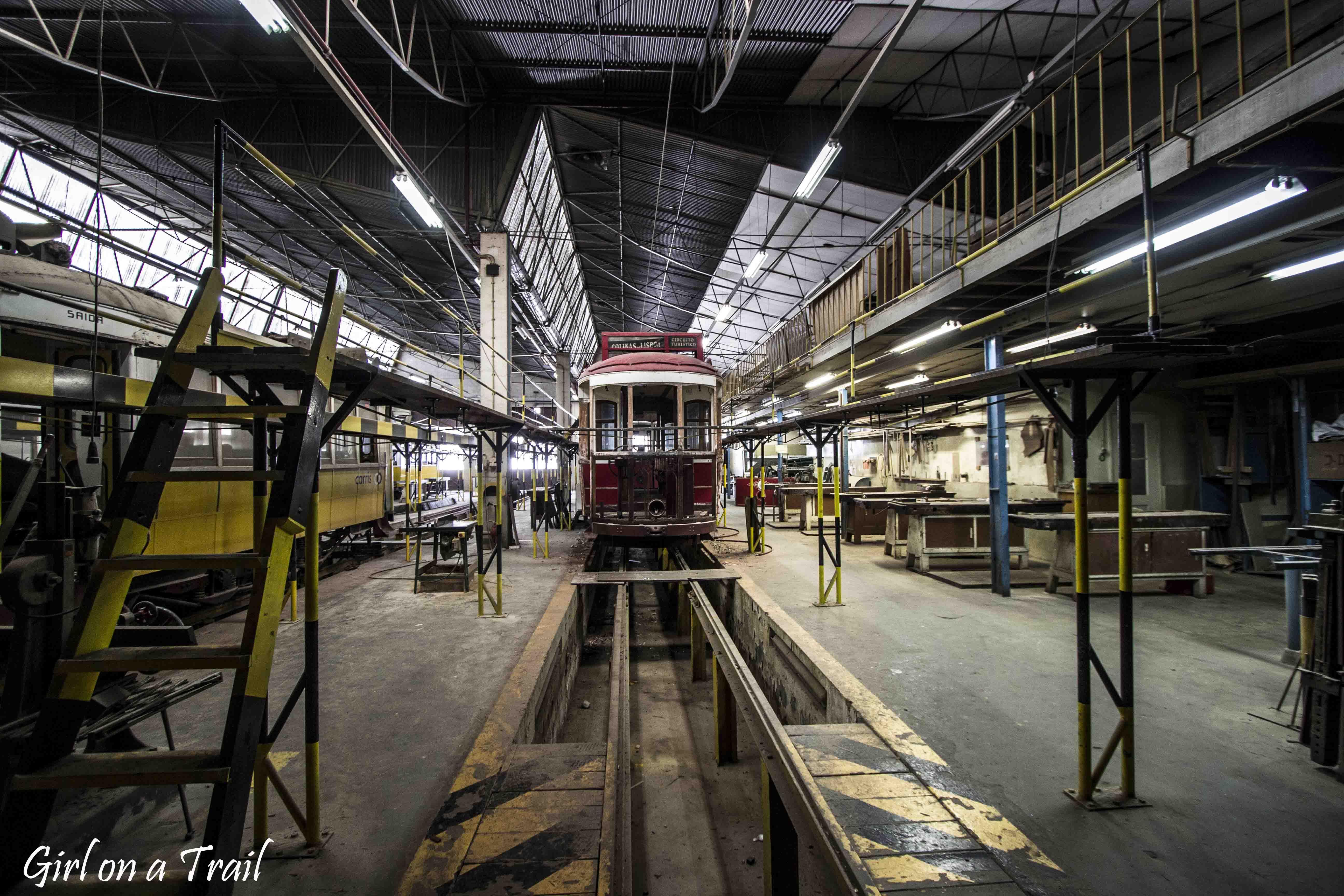 Lizbona - Muzeum Tramwajów