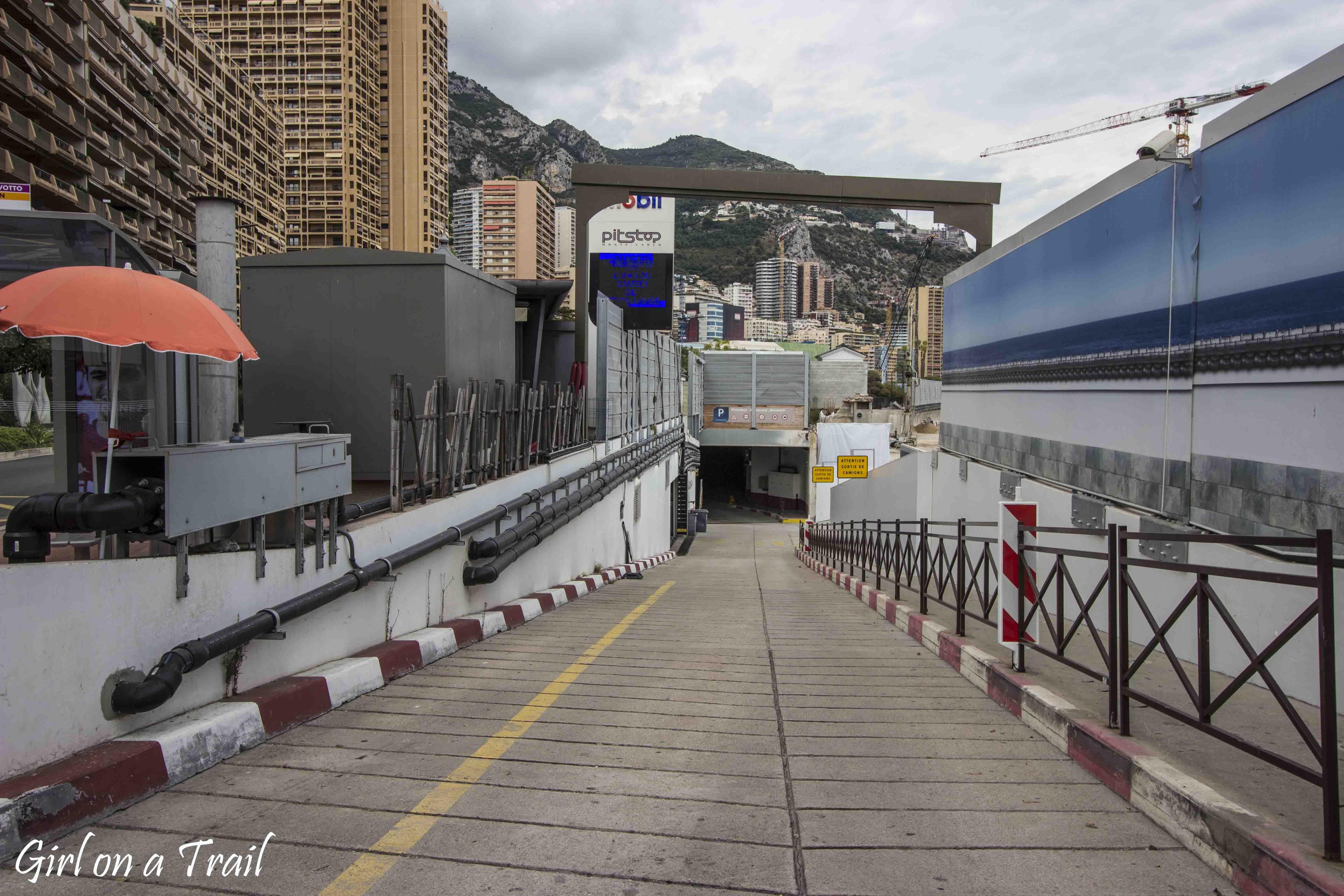 Monako - Pitstop