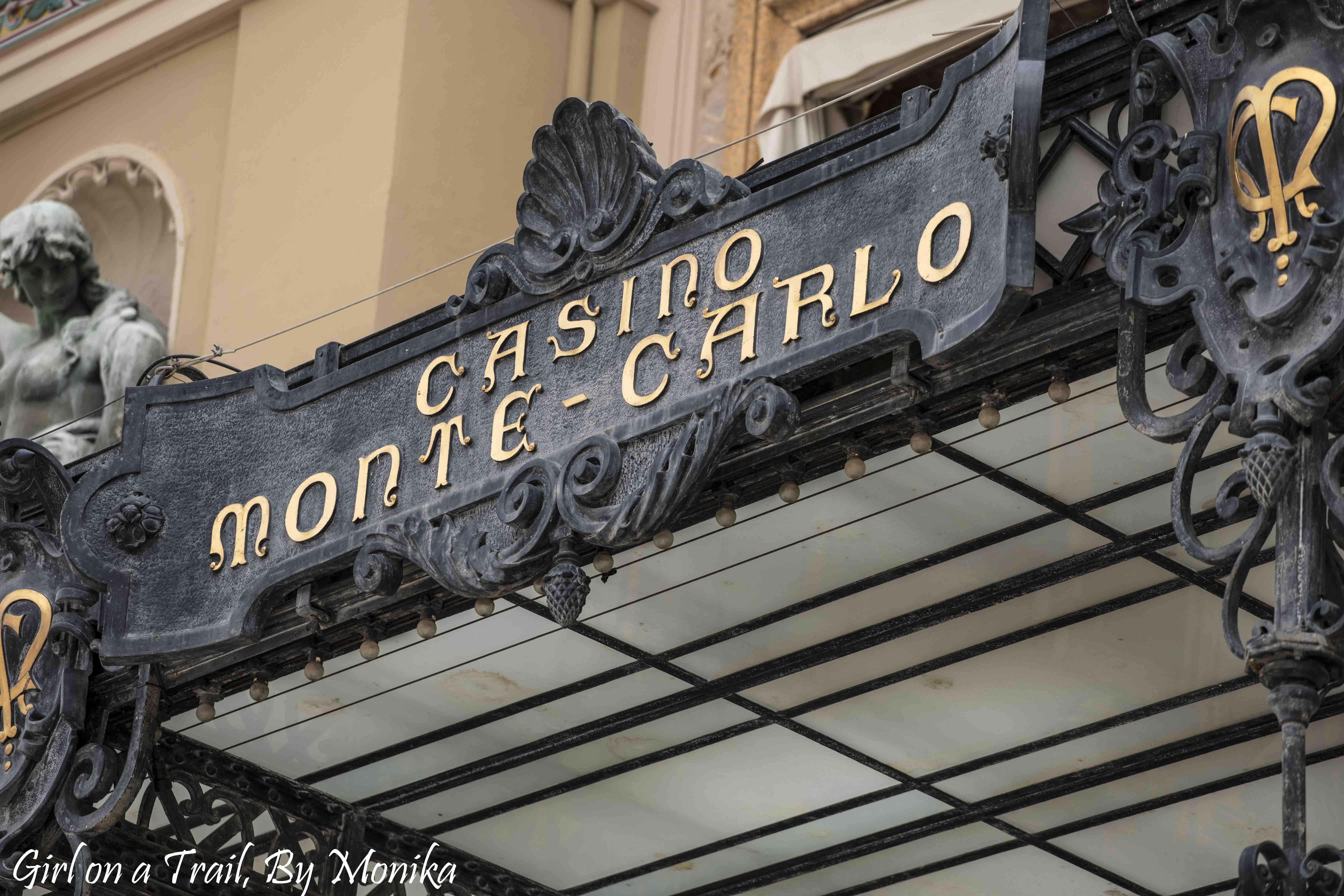 Monako -Kasyno Monte Carlo