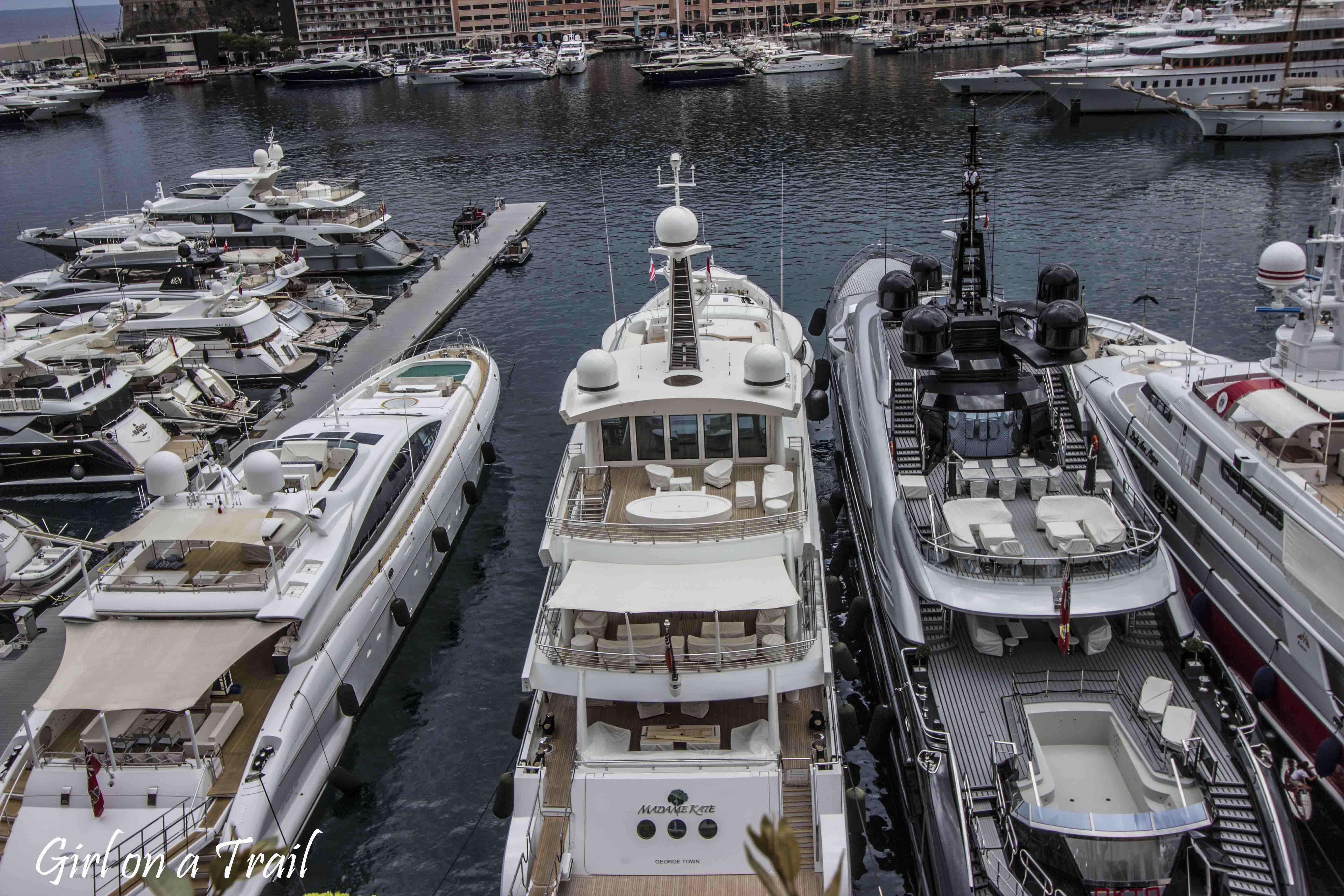 Monako - Port Herkules