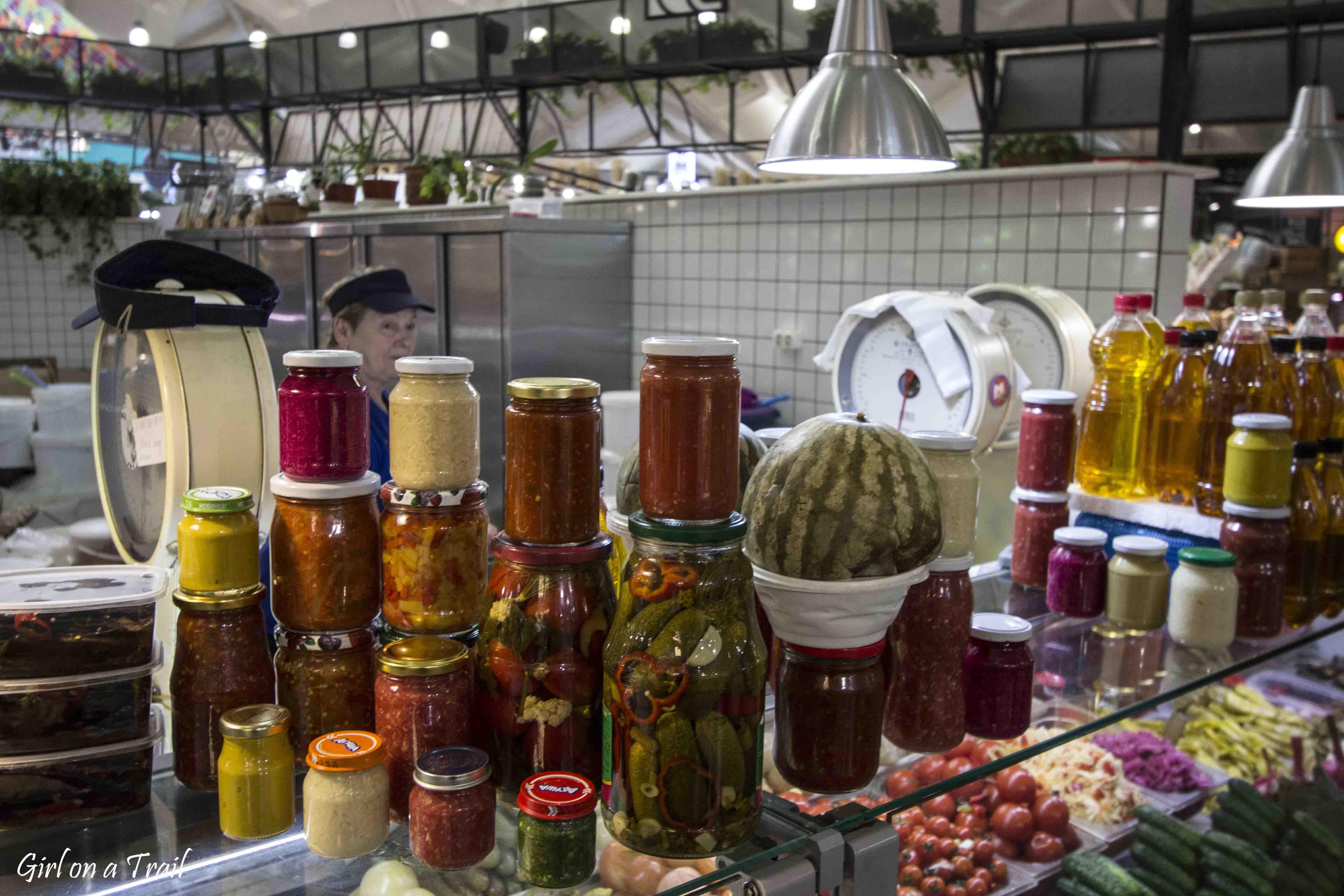 Moskwa, jedzenie, Danilovsky market