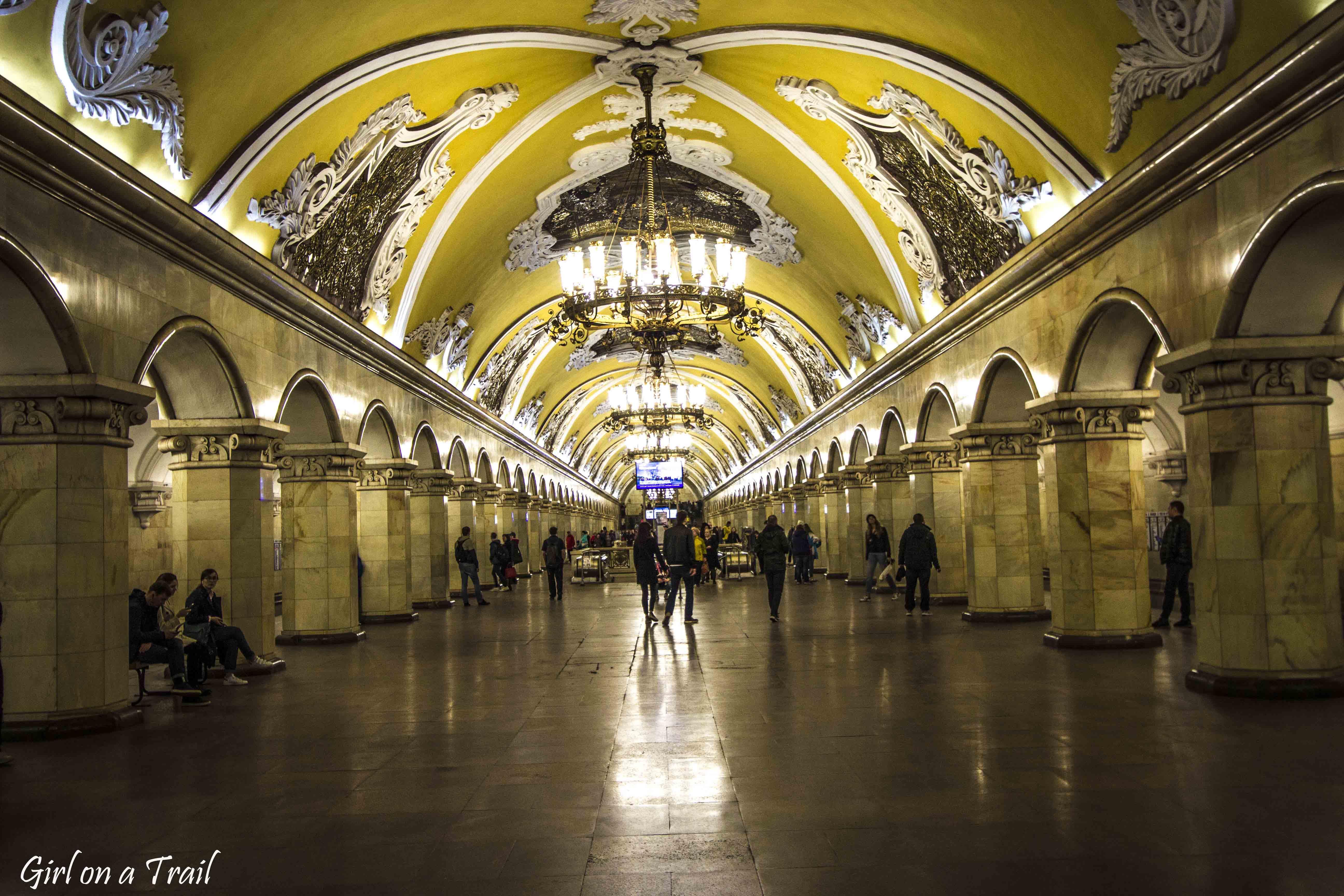 Moscow - metro