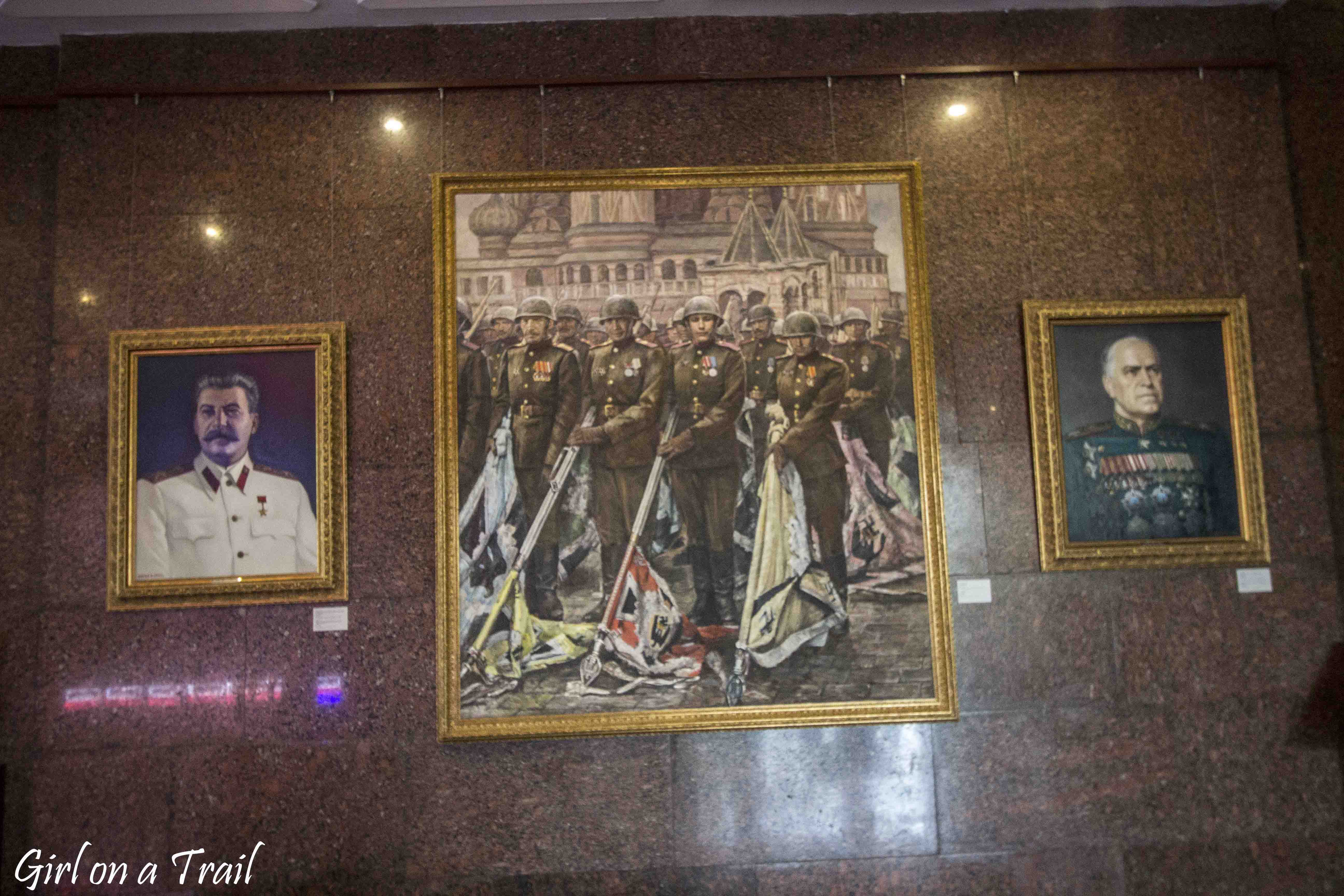 Moskwa - Muzeum Wielkiej Wojny Ojczyźnianej