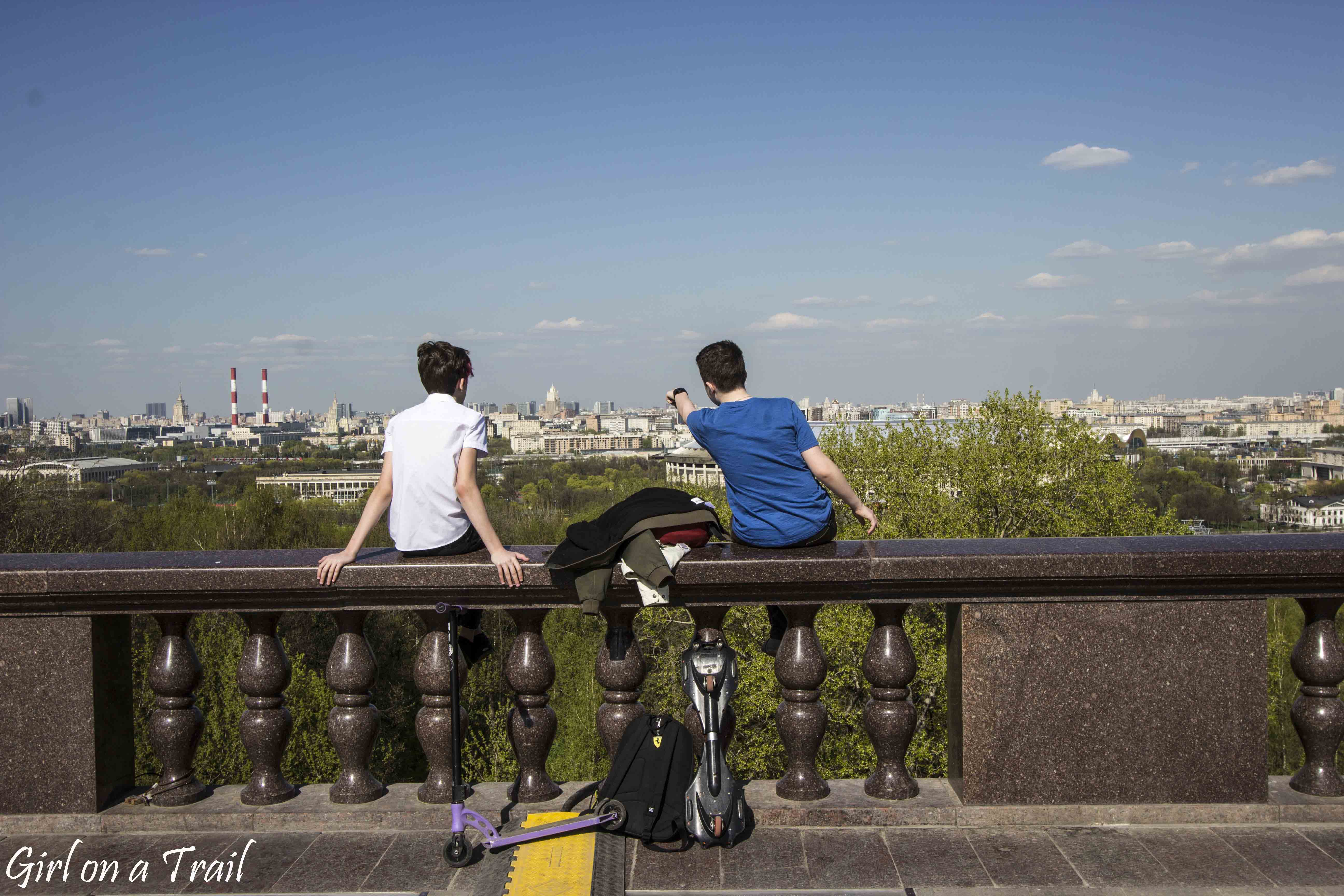 Moskwa, Worobiowe Wzgórza