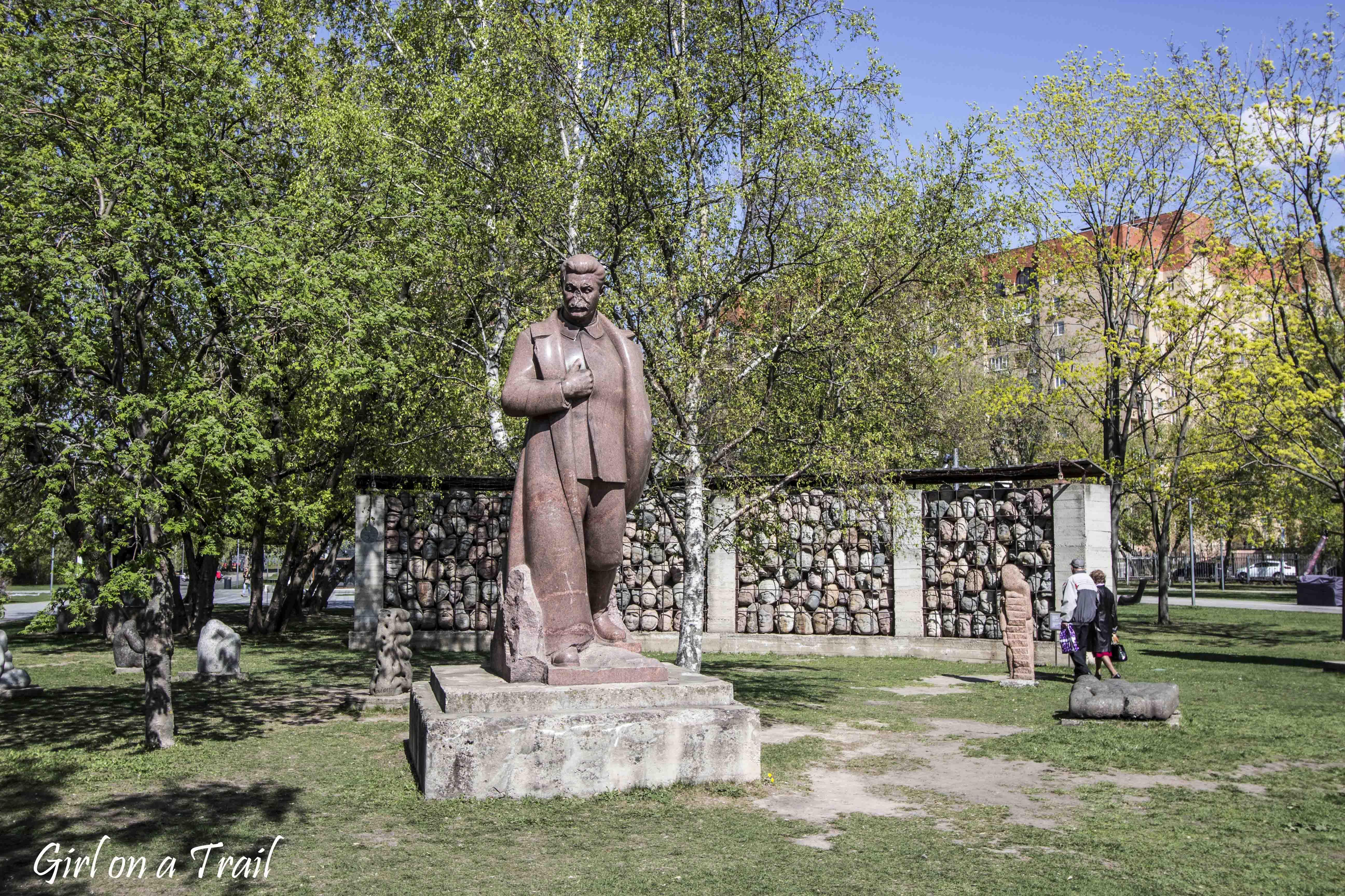 Moskwa - Galeria Rzeźb Upadłych