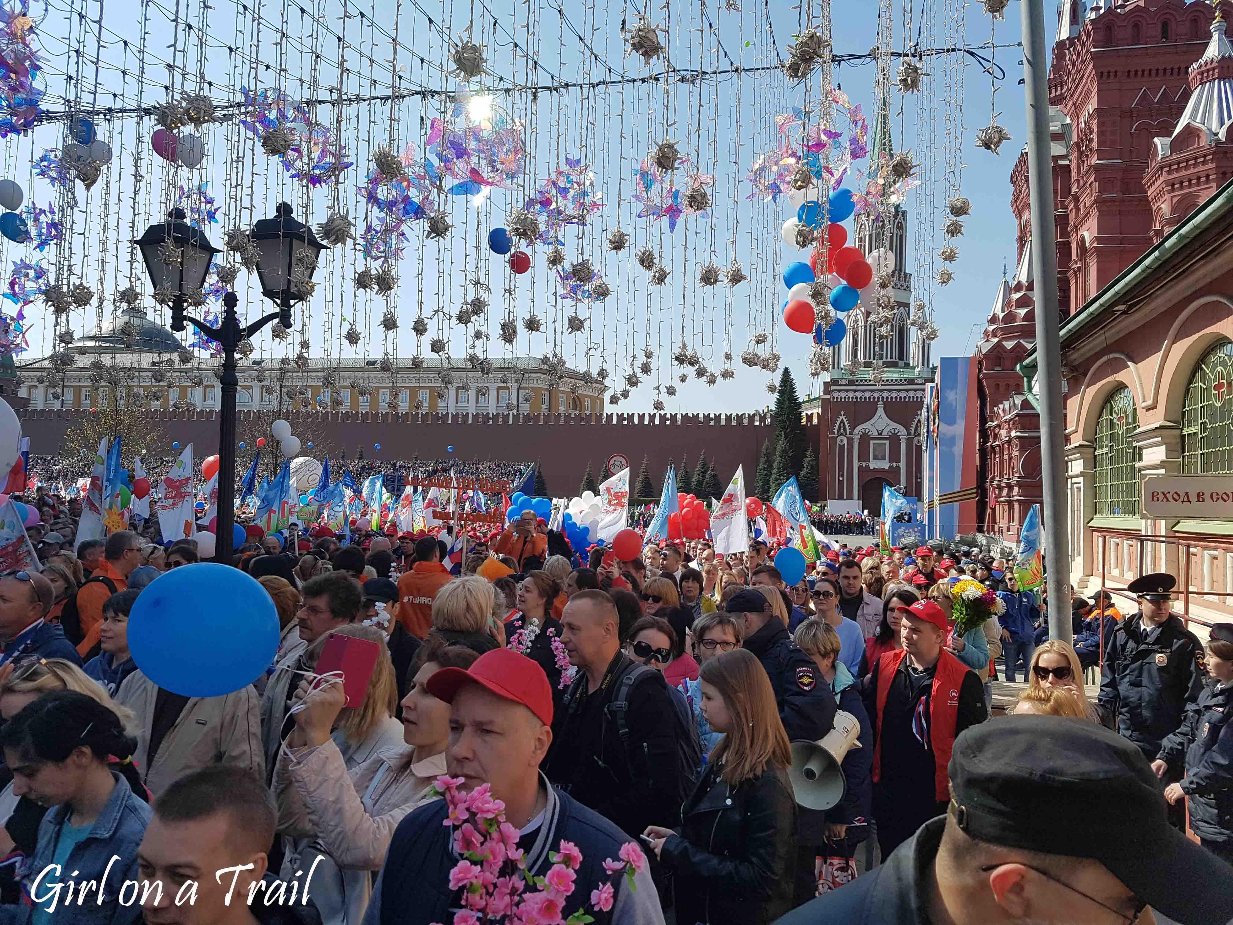 Moskwa - Święto Pracy