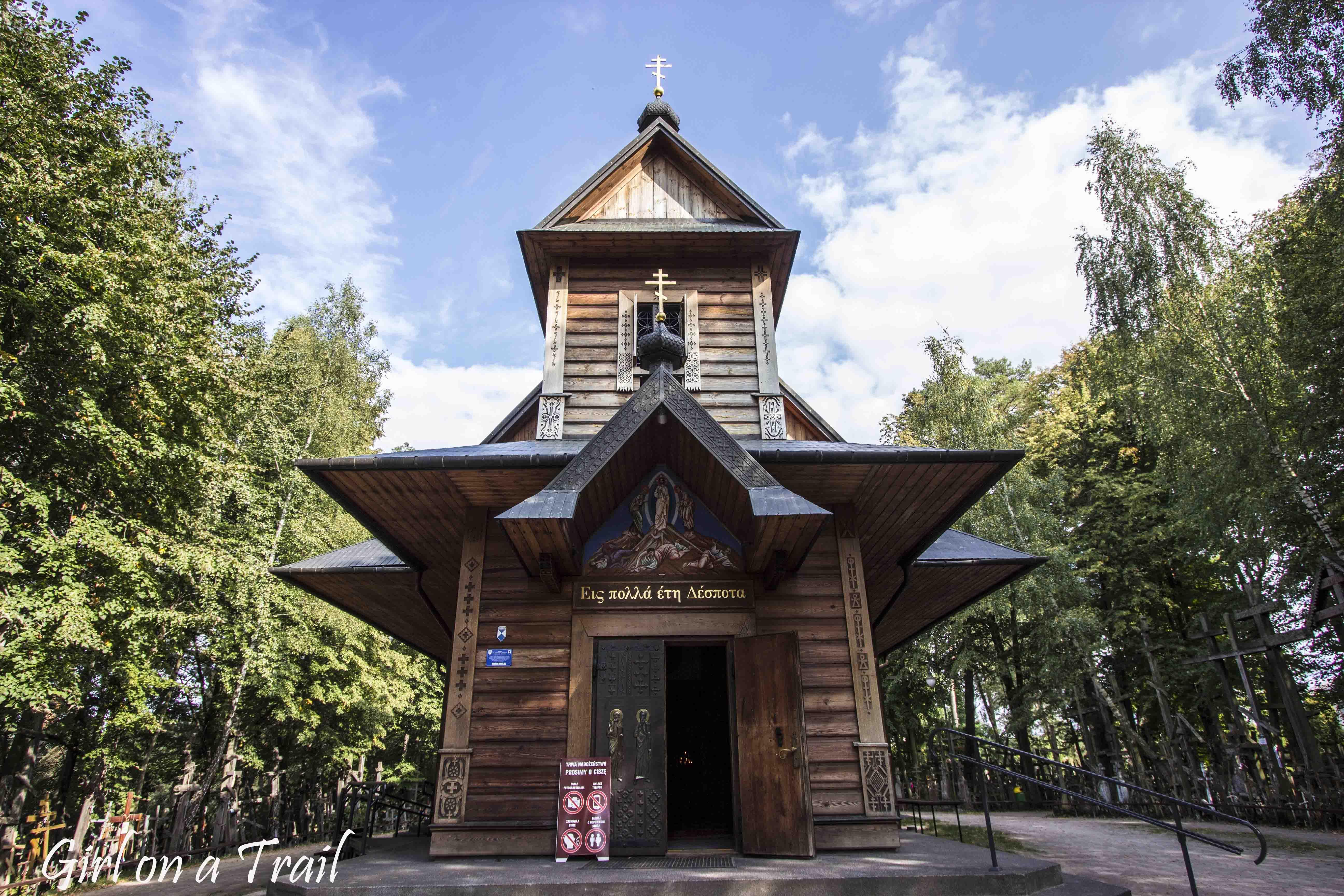 Podlasie - Góra Grabarka