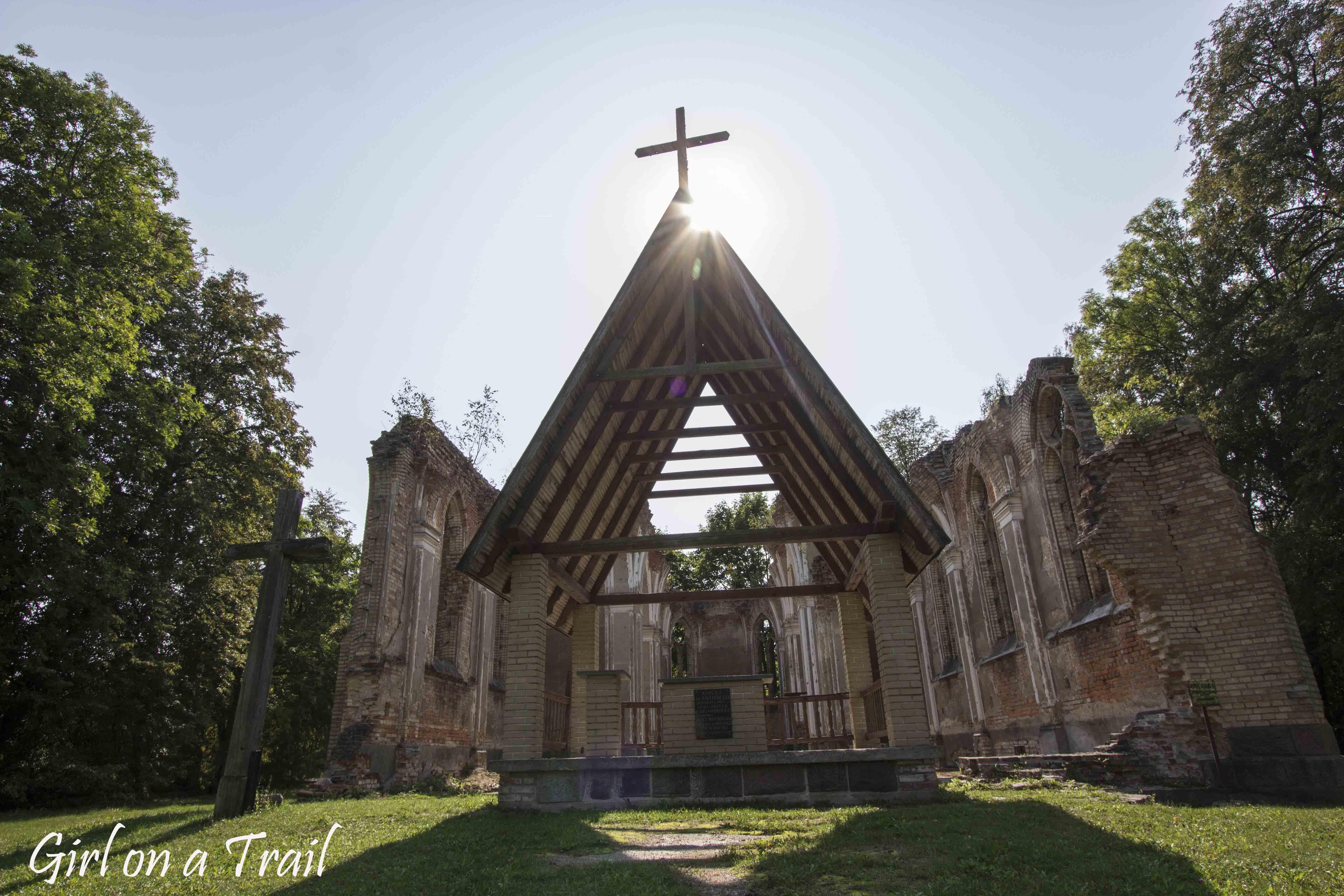 Podlasie - kościoł św. Antoniego we wsi Jałówka