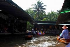 Tajlandia - pływający market