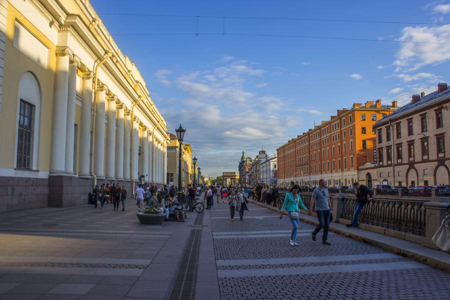 Tallinn, Helsinki, Petersburg