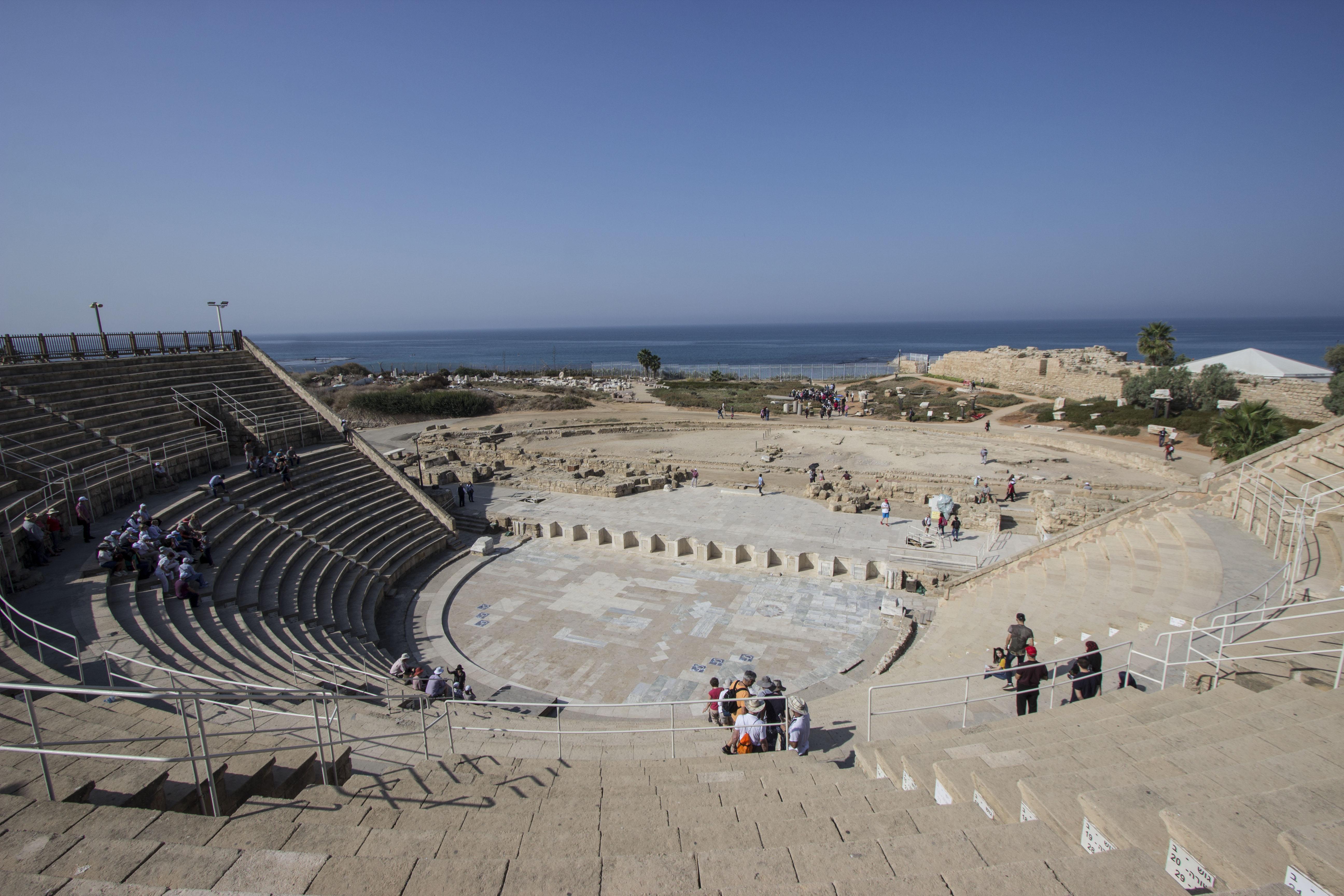 Izrael - Cezarea, amfiteatr