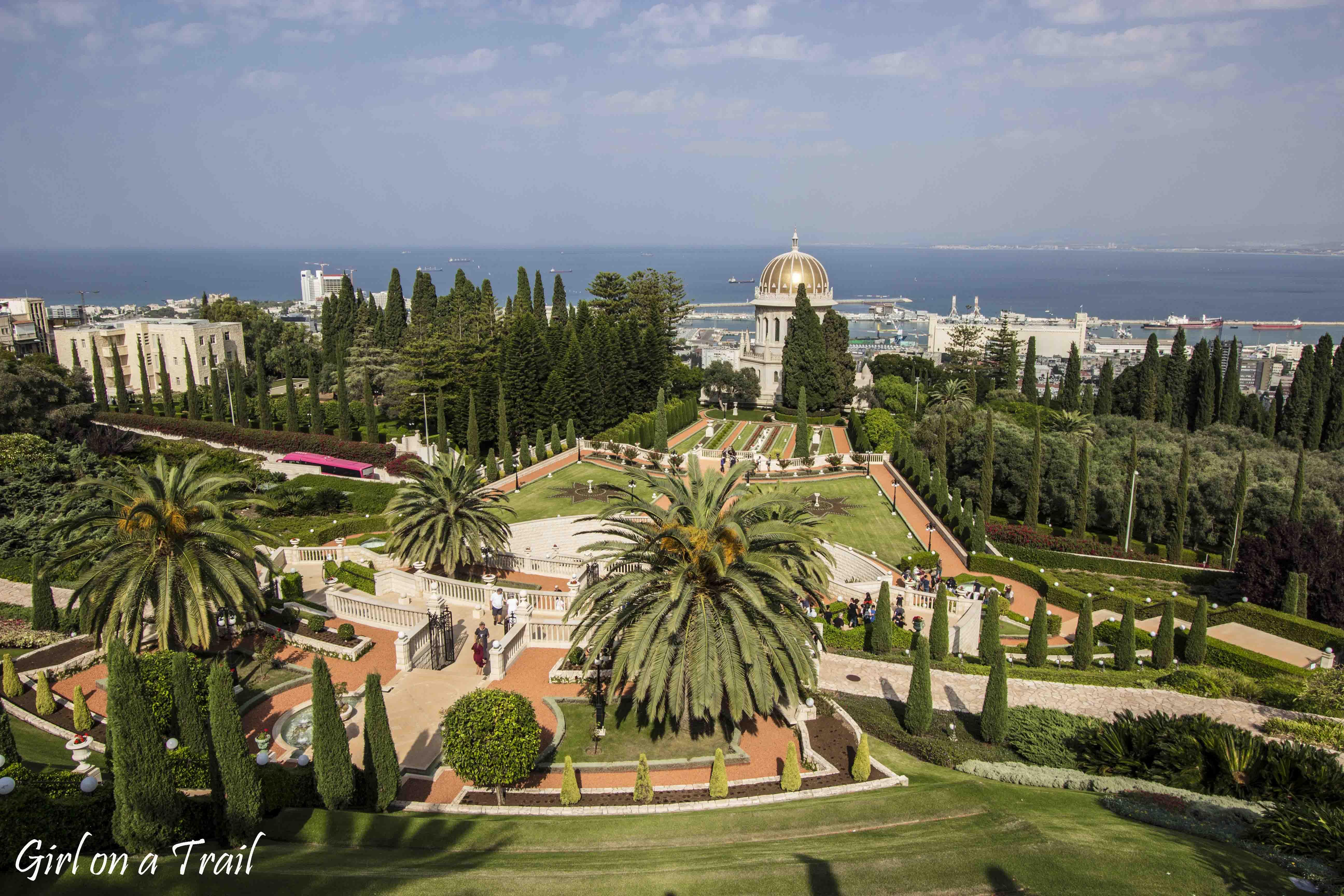 Izrael, Hajfa, Ogrody Bahá'i