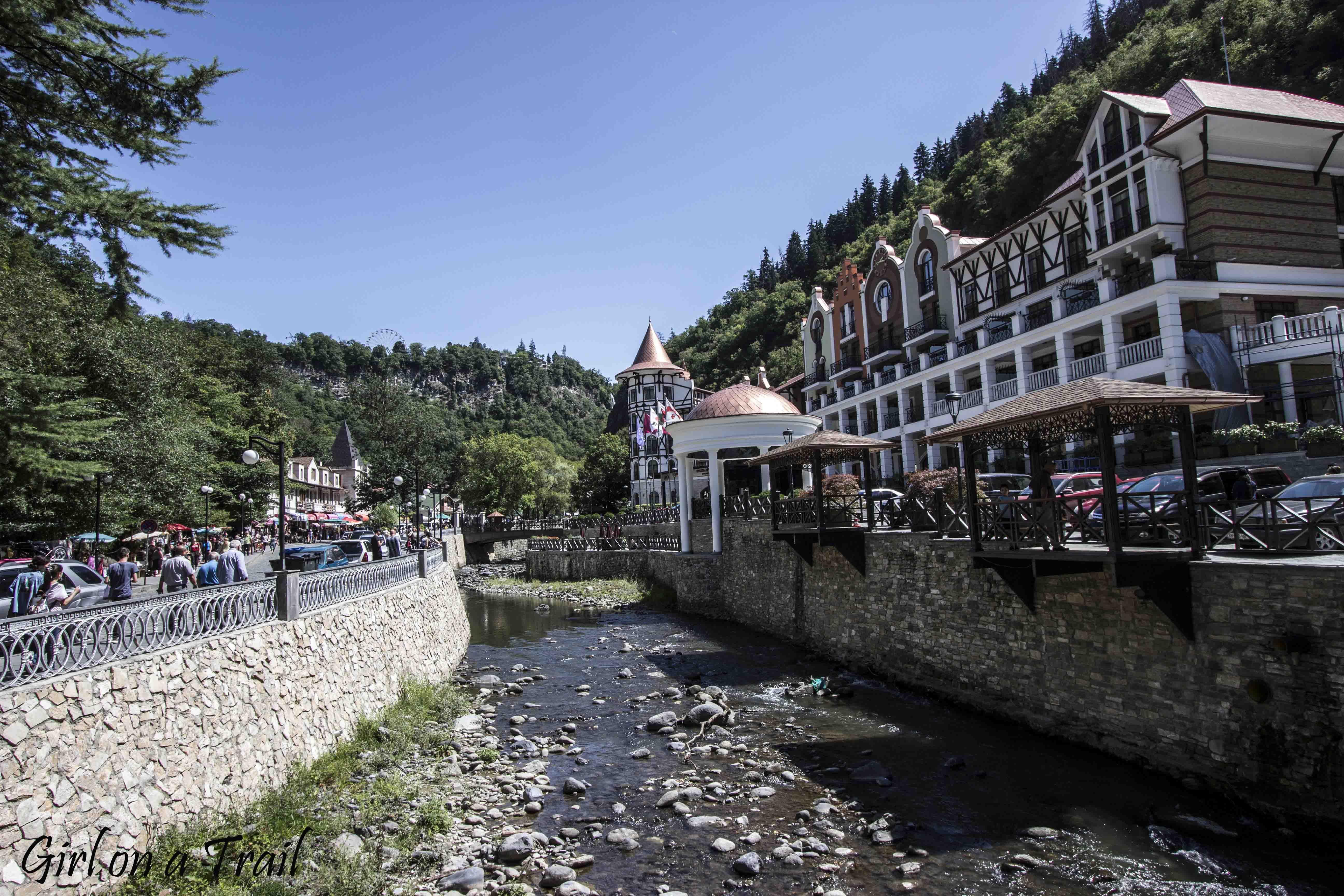 Gruzja - Borjomi
