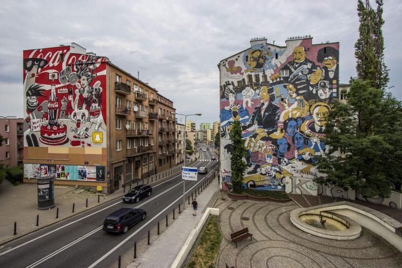 Warszawa - murale