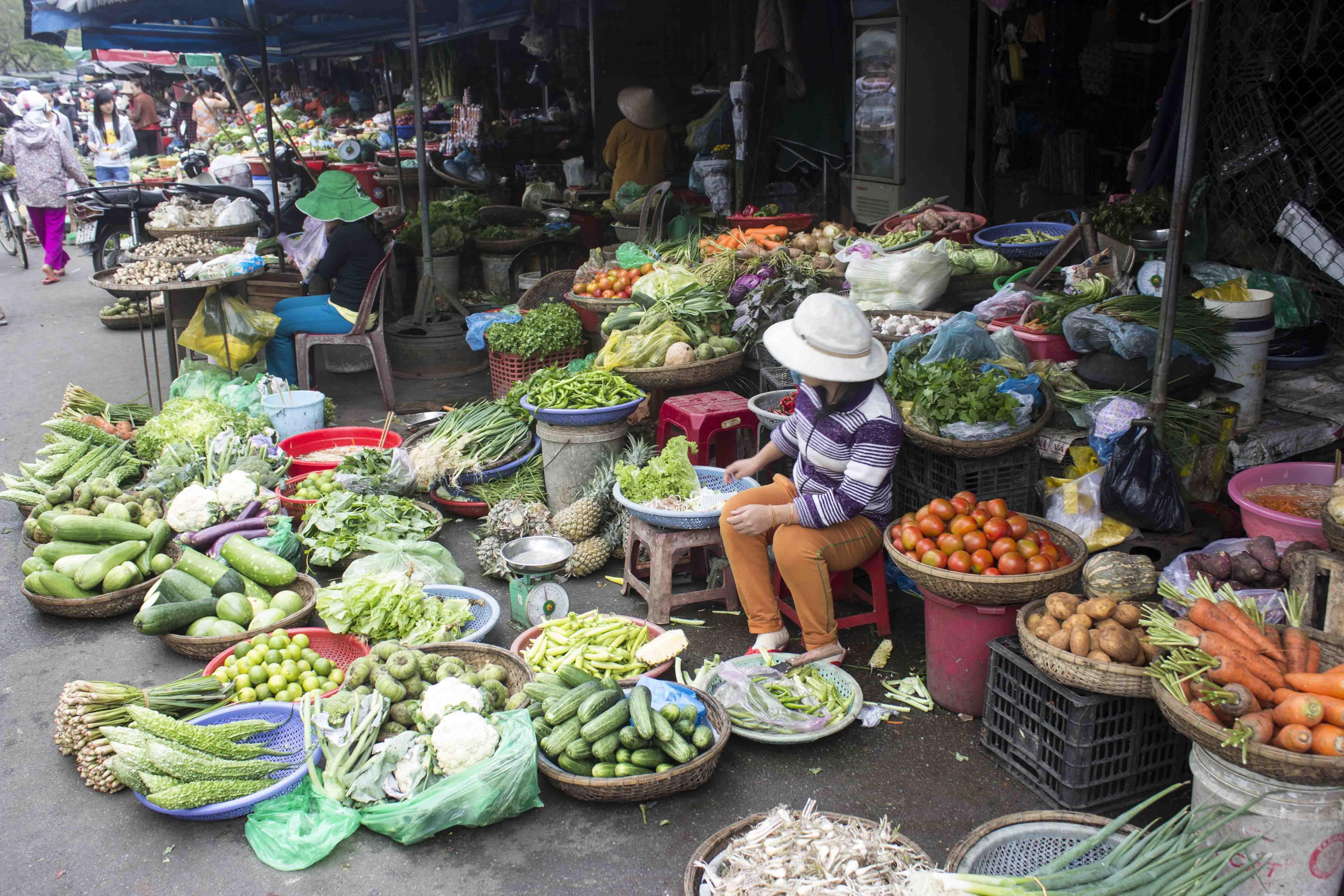 wietnamski bazar
