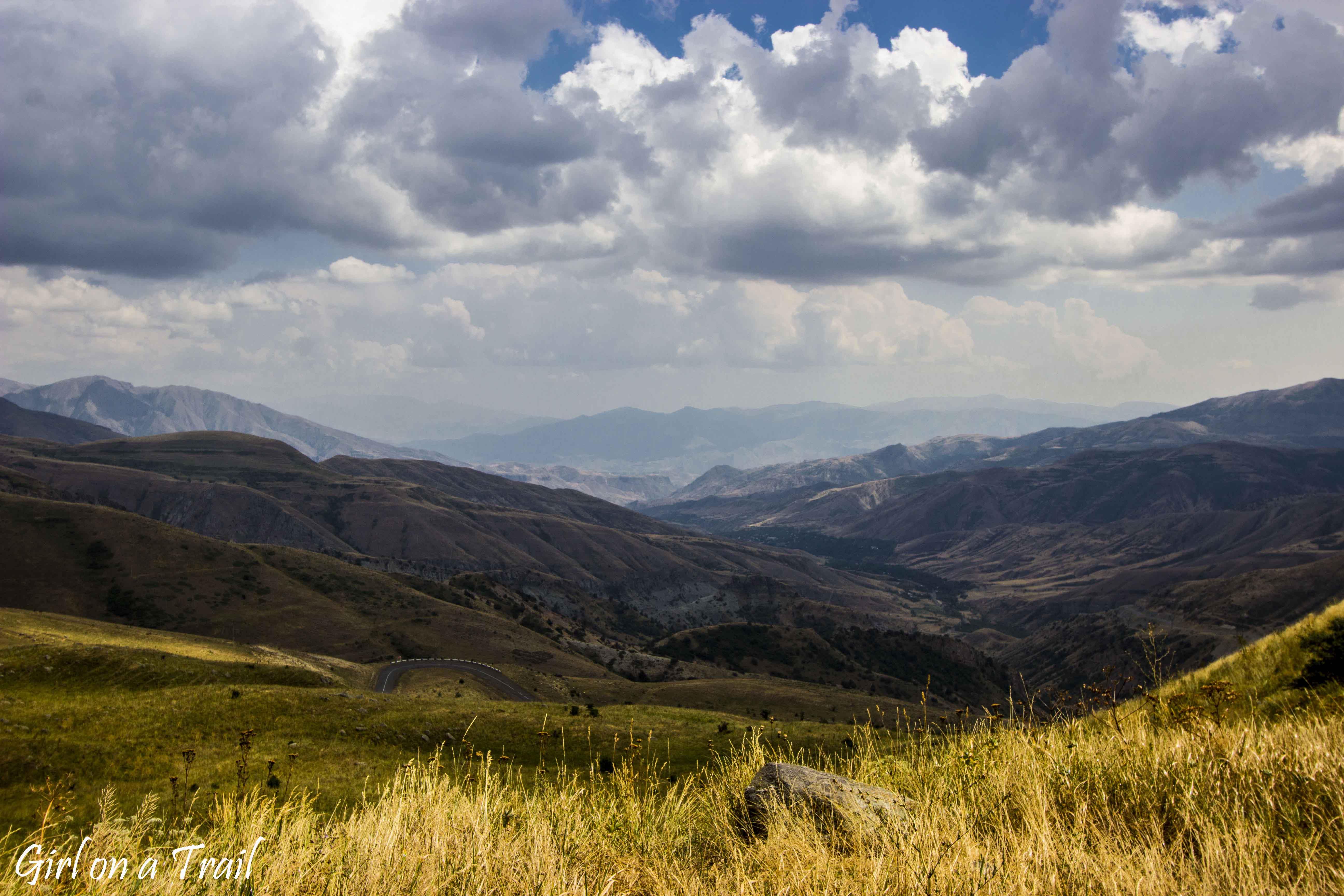 Armenia - Przełęcz Selim