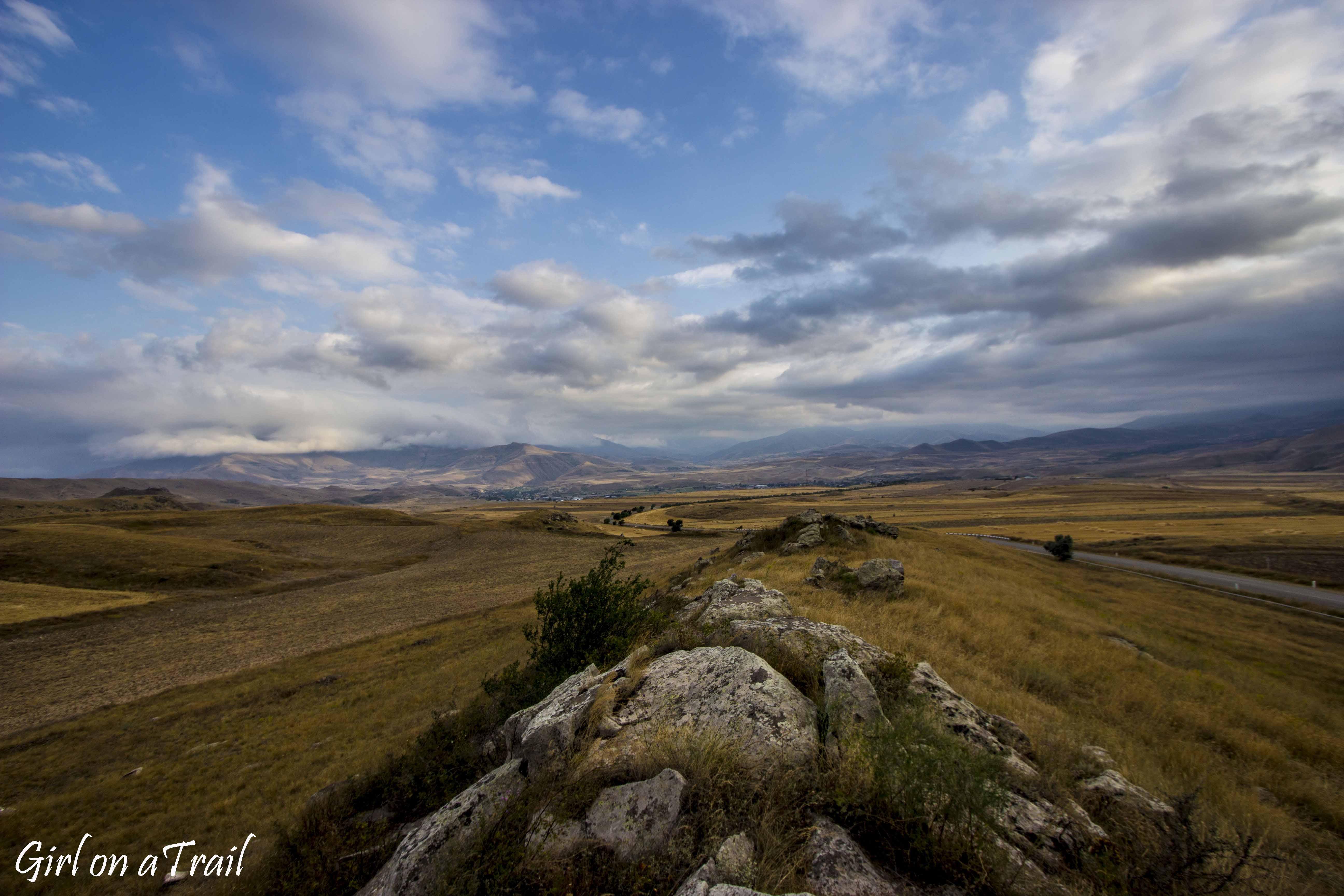 Armenia - ormiański Stonehenge