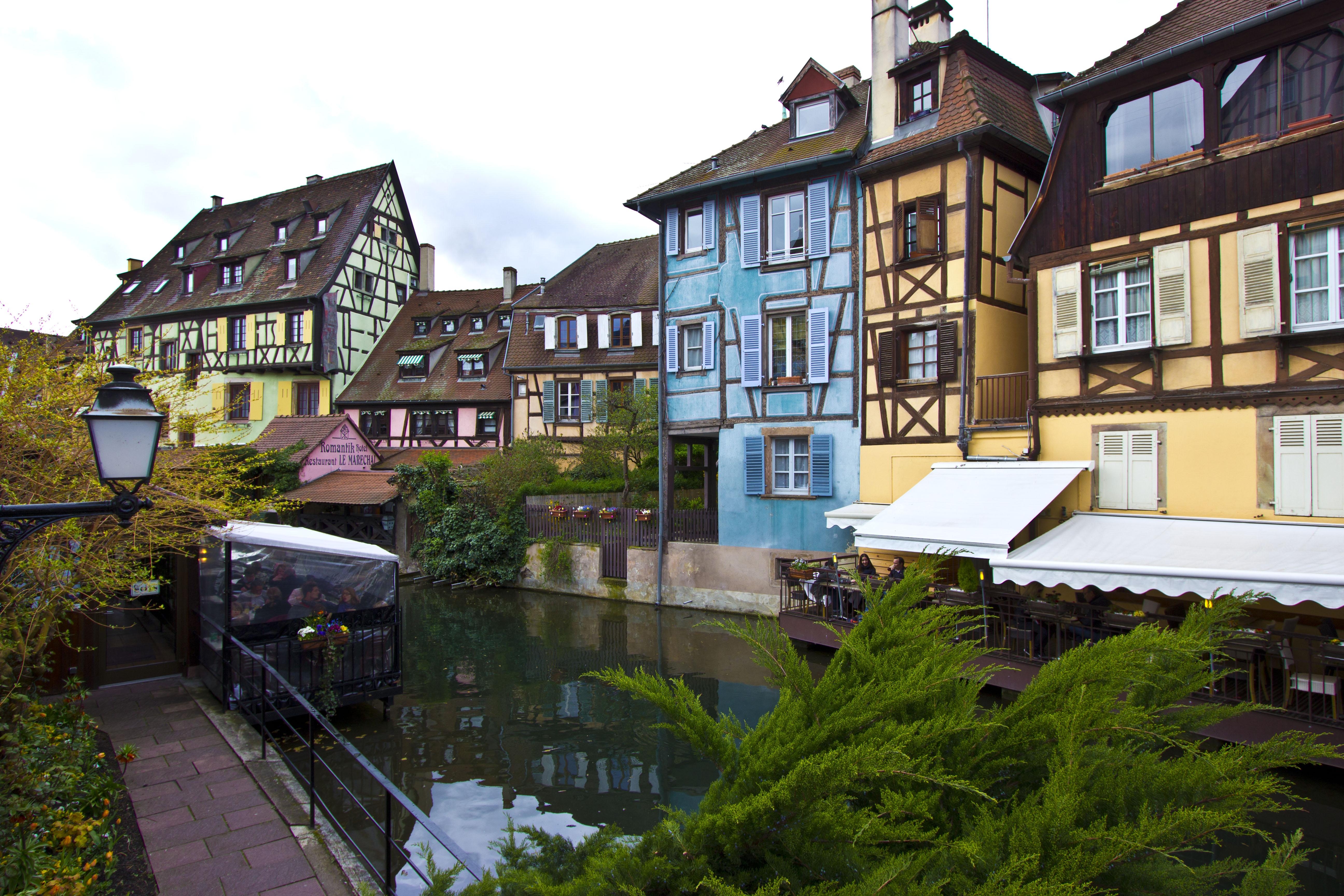 Colmar – gdzie się podziały bociany?