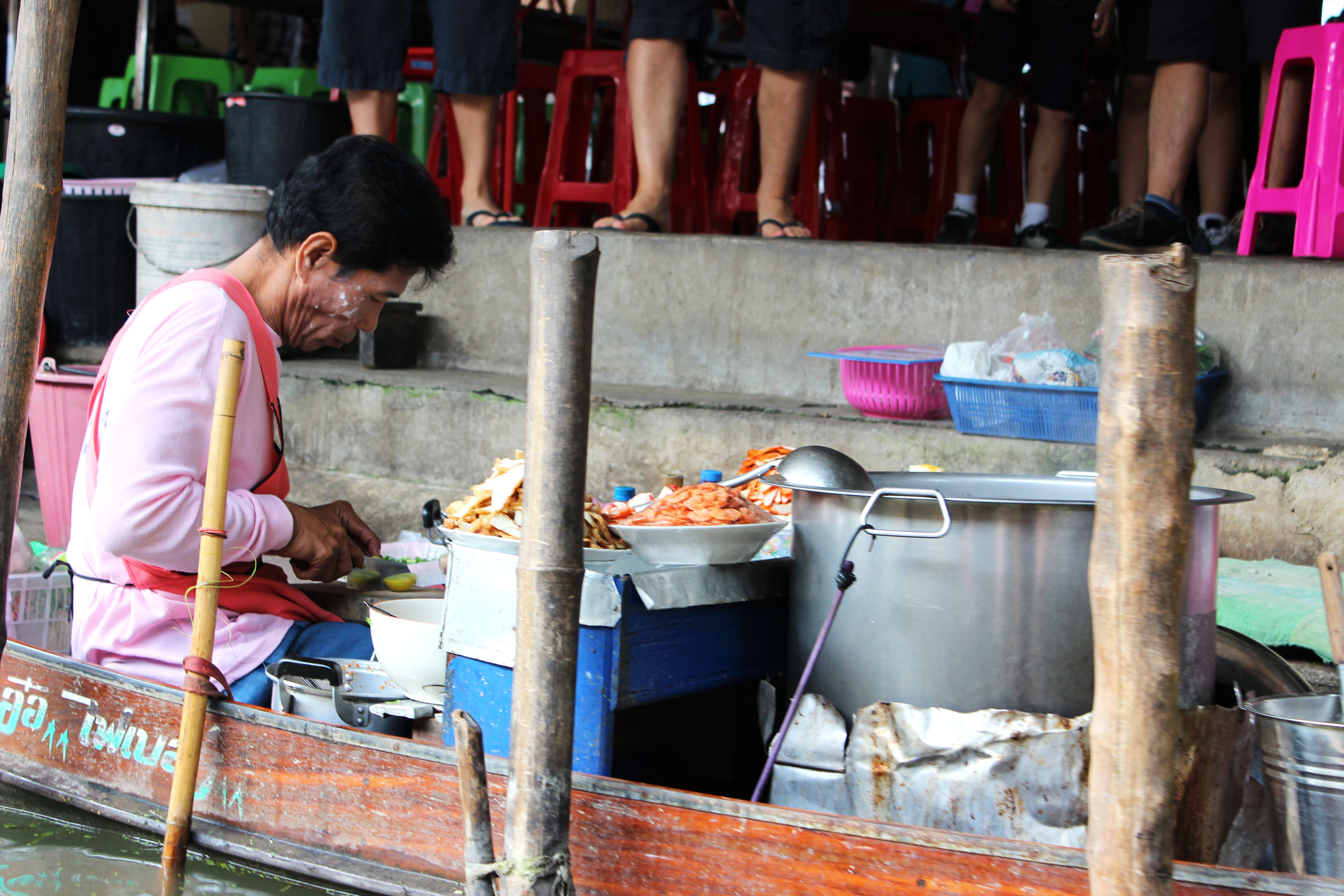 Bangkok – floating market