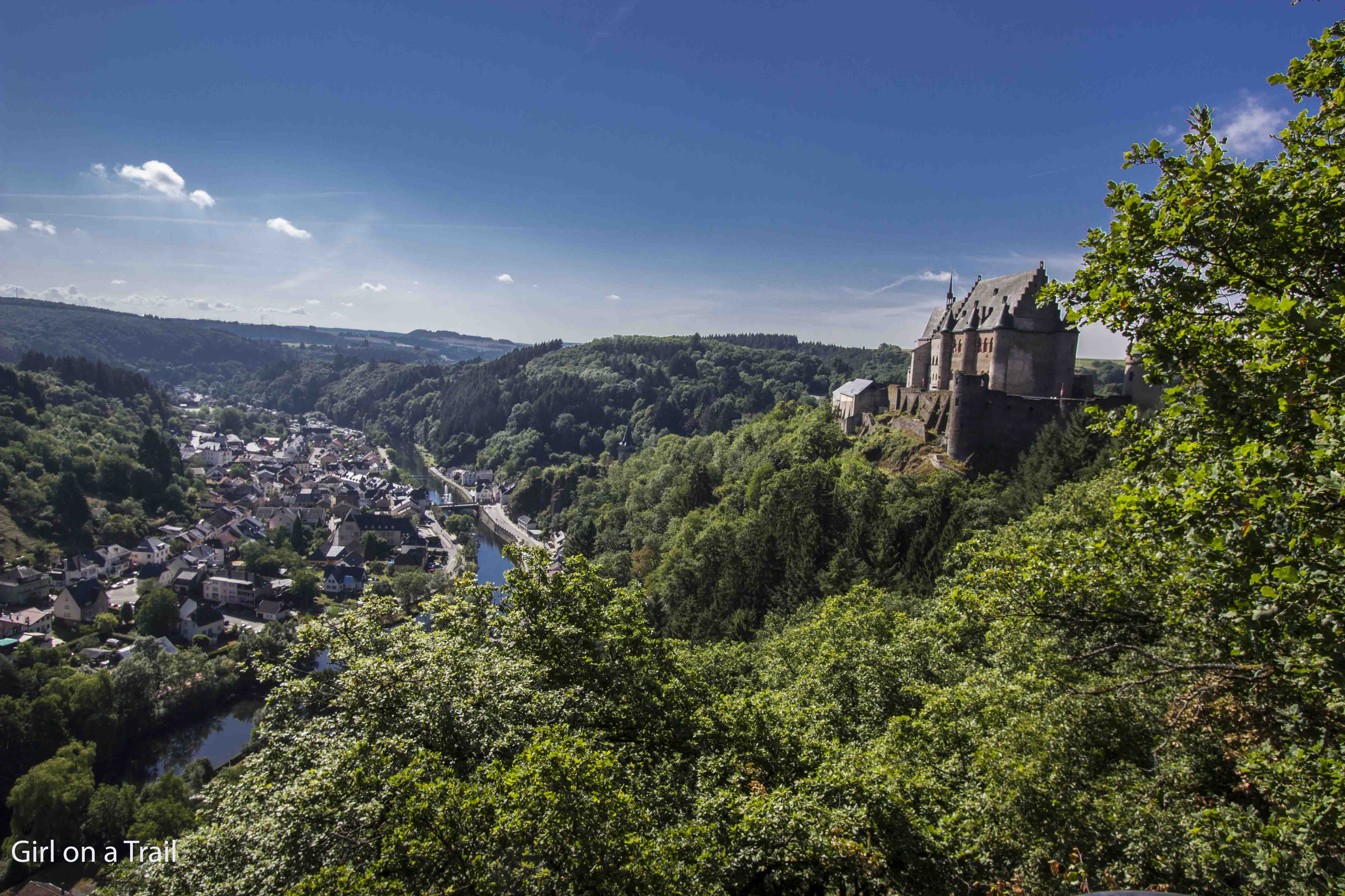 Girl on a Trail: Luksemburg – Vianden