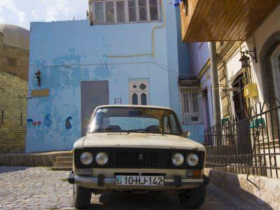 Azerbaijan, Baku – Mad Max in the shade of glass houses