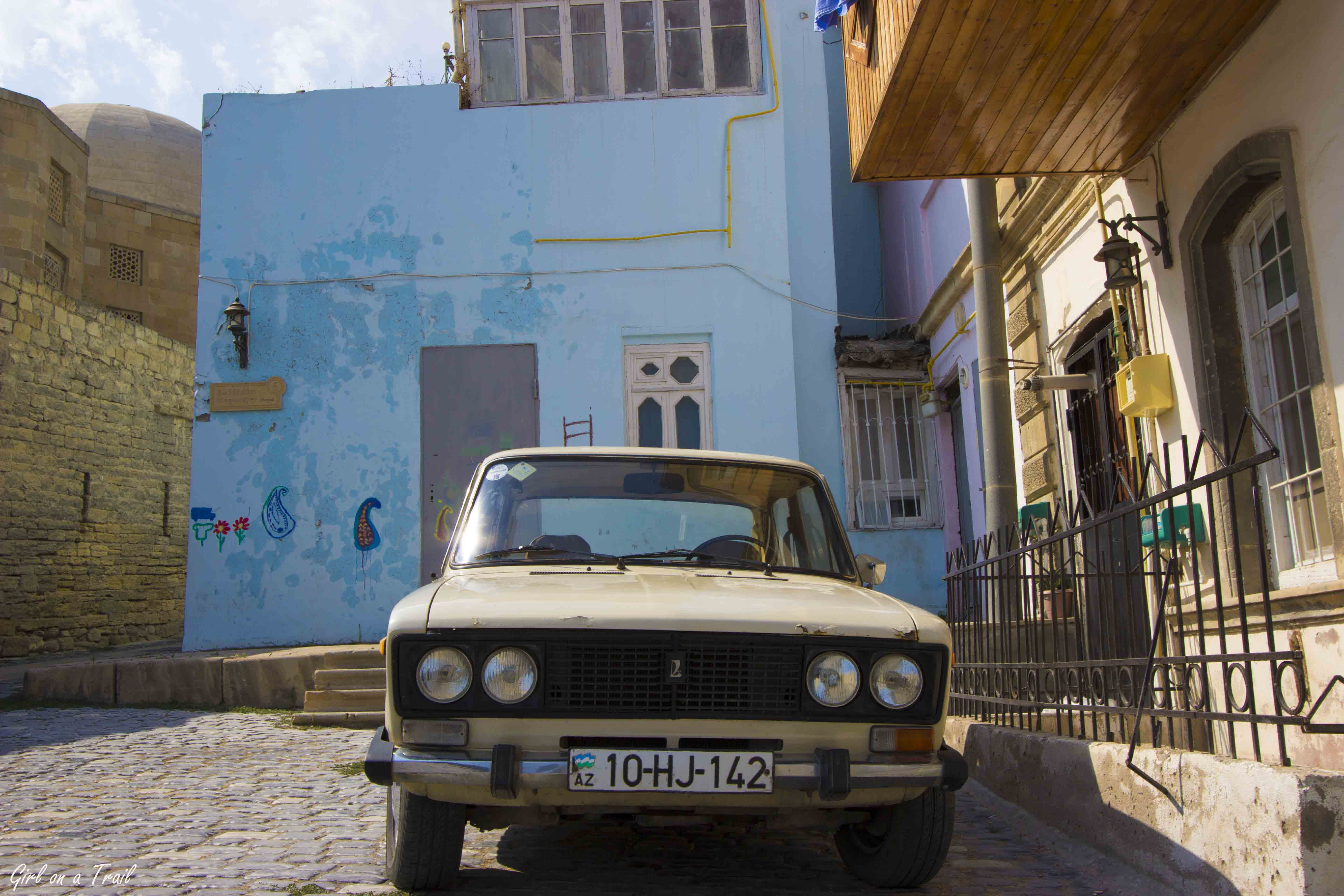 Azerbaijan, Baku – Mad Max in the shade of glass houses