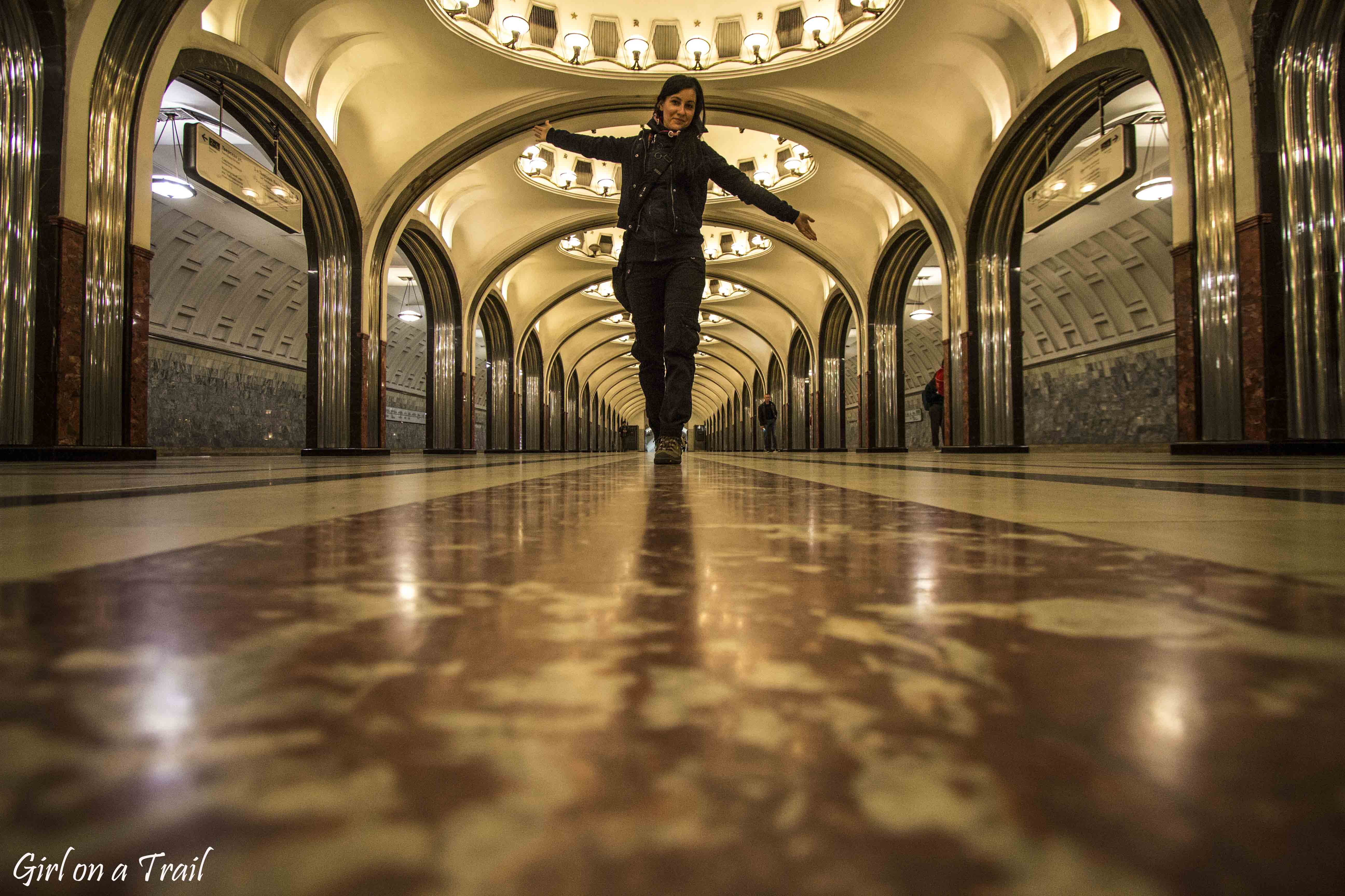 Moscow metro – welcome to royal chambers!