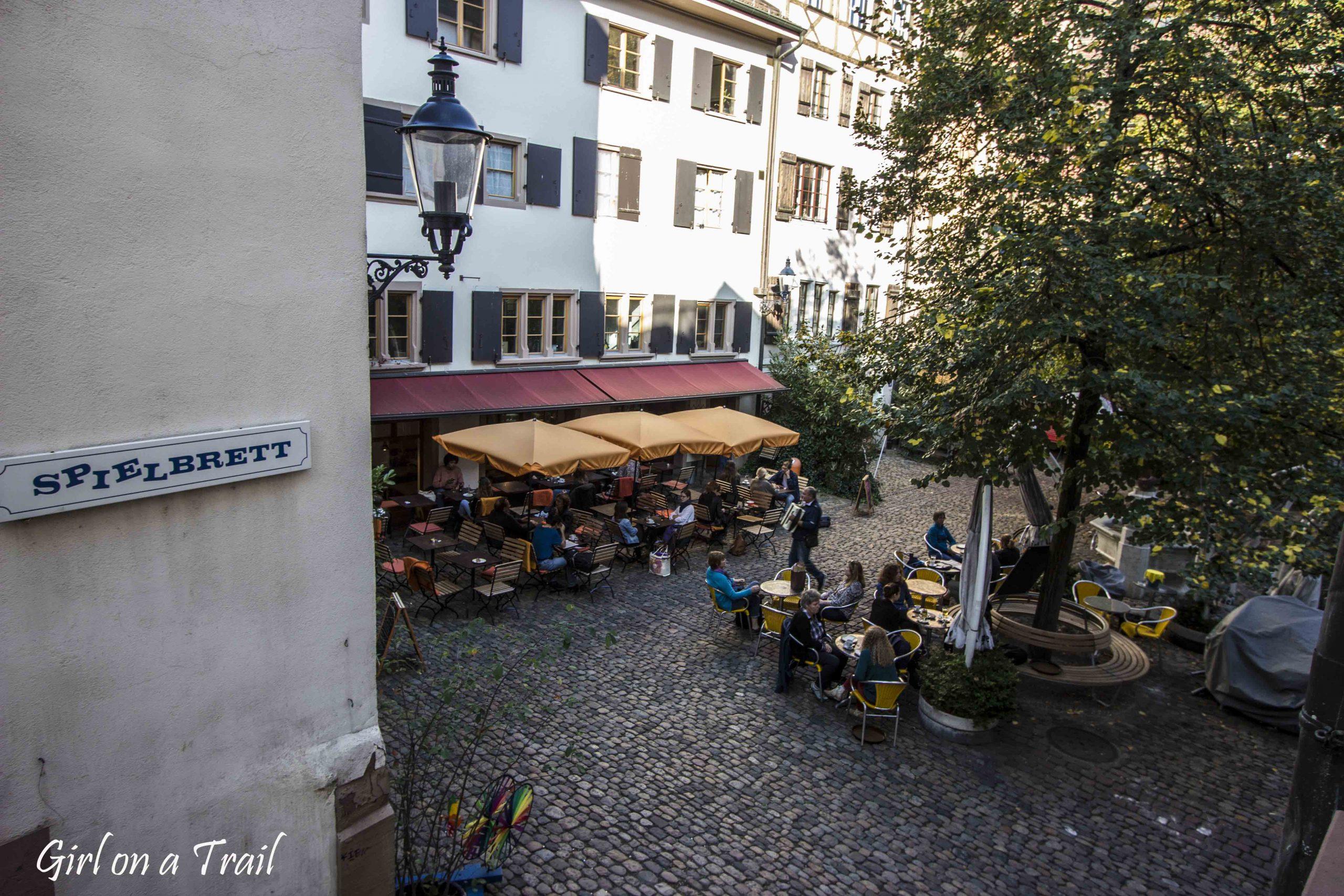 Szwajcaria, Bazylea – bramka nr 2