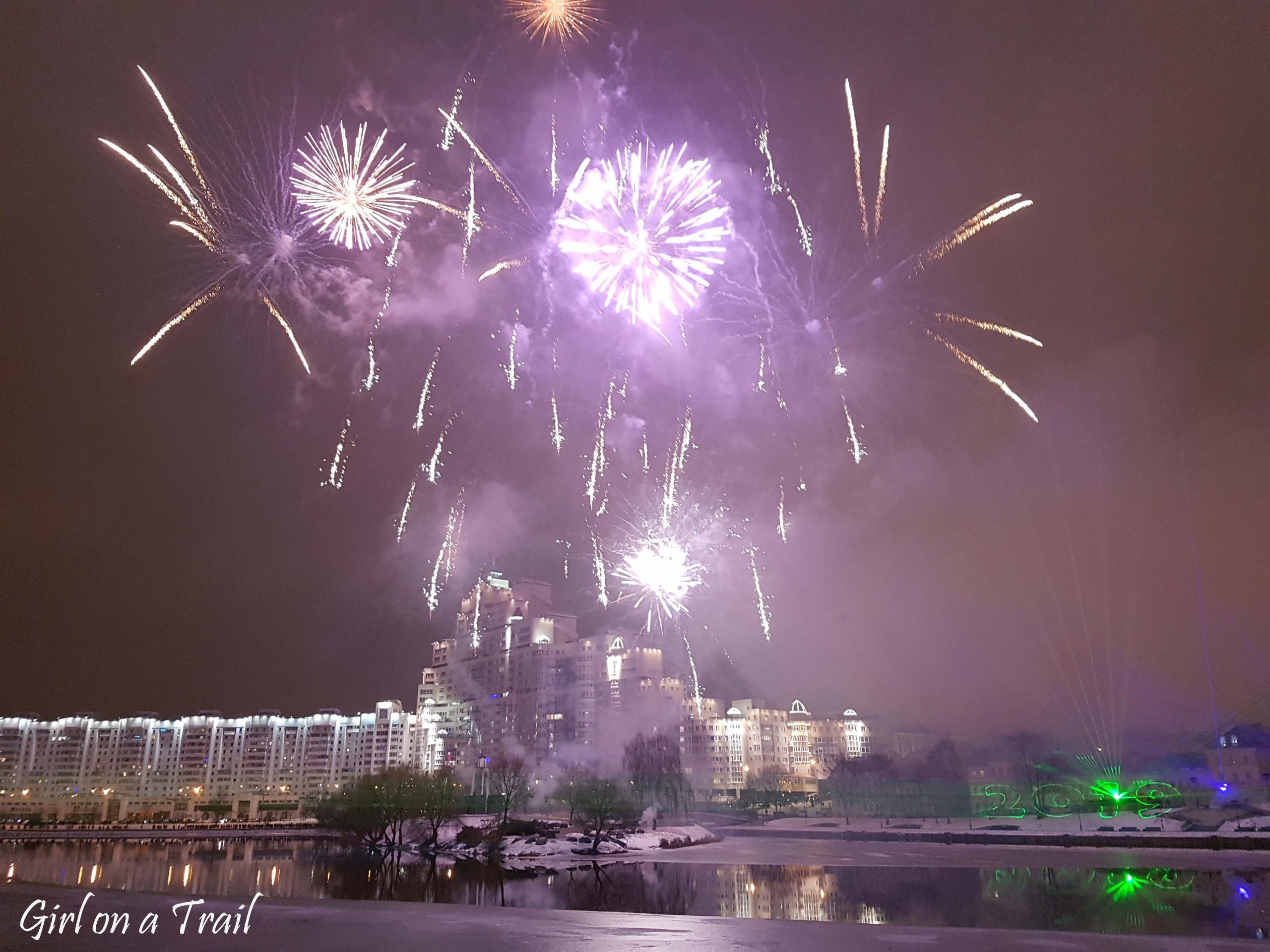 New Year's eve in Minsk – unexpected fireworks!