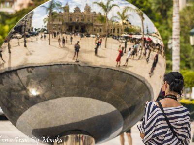 Monako i domy z betonu… Girl on a Trail