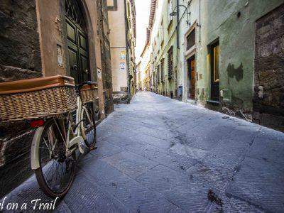 Lucca, Toskania czyli włoski sposób na las na dachu
