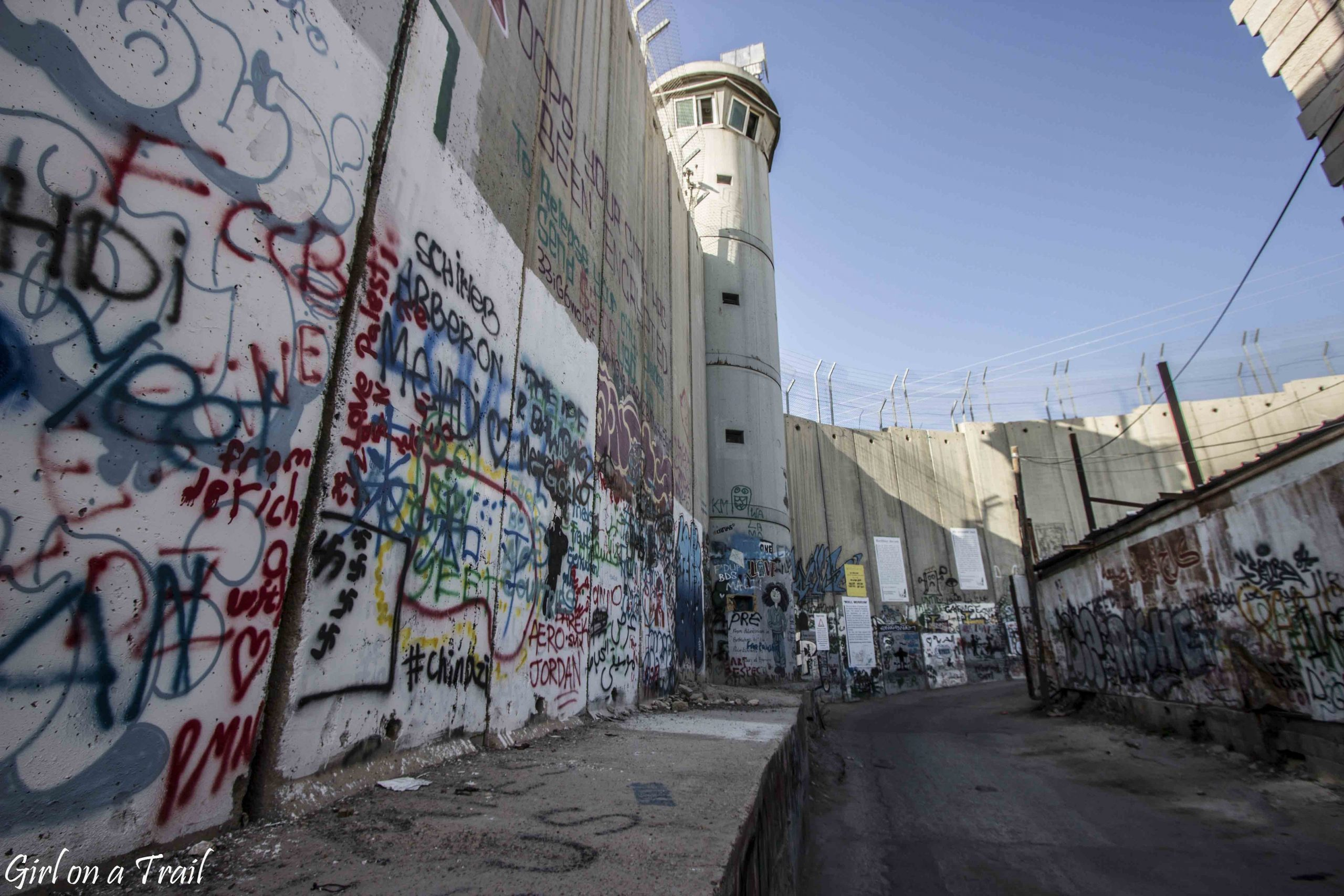 Bethlehem, the Palestinian Authority and the separation wall